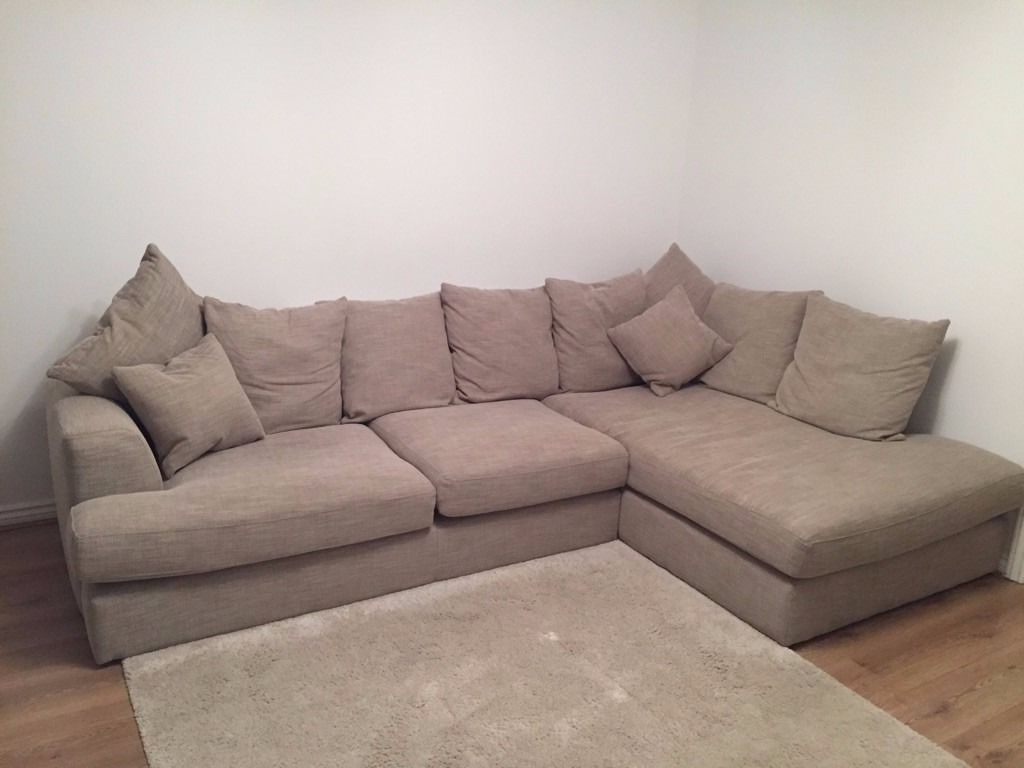 Large 4 Seater Sofas Throughout Widely Used 4 Seater Corner Sofa (View 6 of 20)