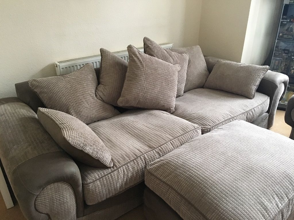 Large 4 Seater Sofas With Regard To Favorite Molby Collection – 3 Piece Sofa Suite – 4 Seater Sofa, Cuddle (View 3 of 20)