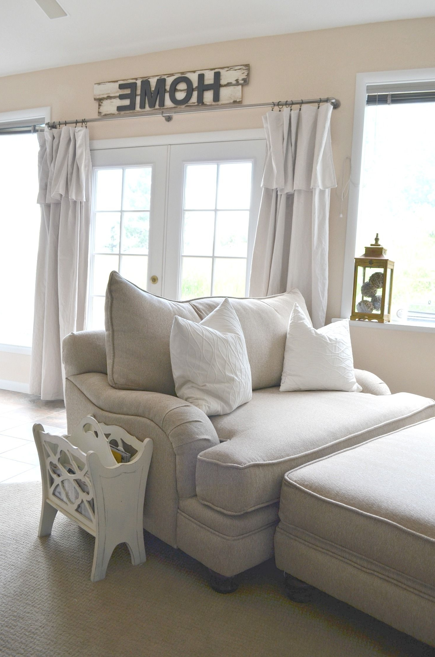Large Sofa Chairs Regarding Most Current Farmhouse Style Oversized Chairs (View 9 of 20)