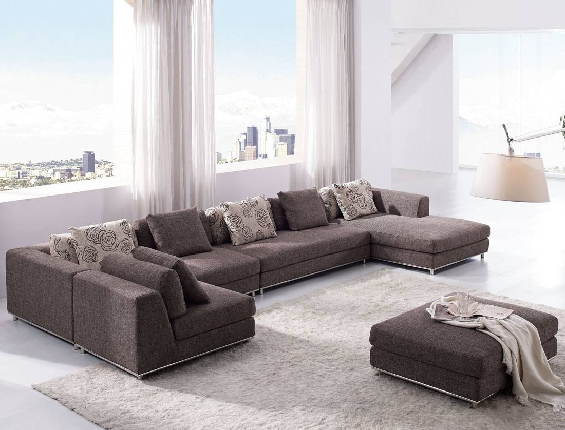 Large U Shaped Sectionals Regarding Fashionable The Big Room For U Shaped Sectional Sofas : S3Net – Sectional (View 7 of 20)