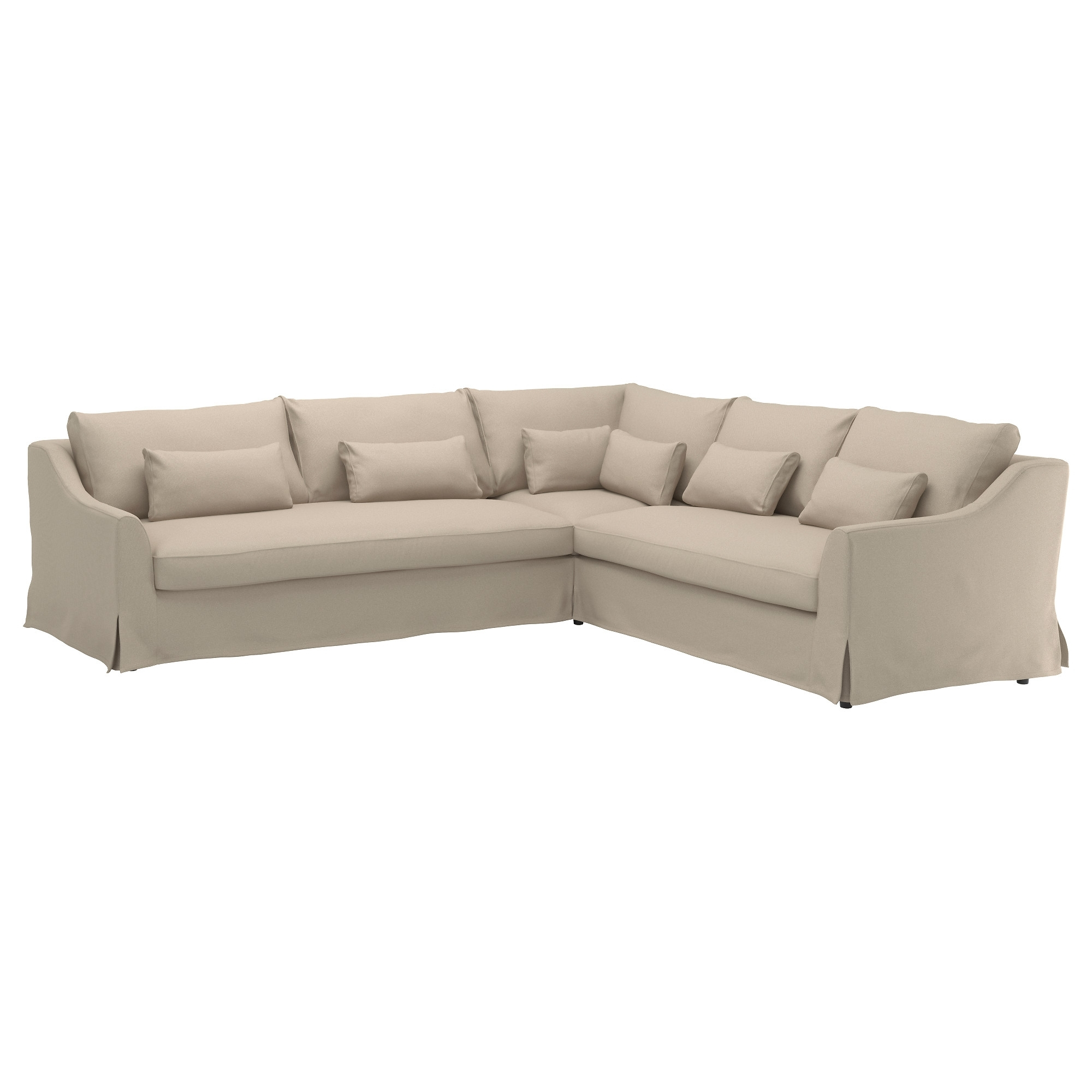 Las Vegas Sectional Sofas Throughout Widely Used Färlöv Sectional,5 Seat/sofa Right – Flodafors Beige – Ikea (View 8 of 20)
