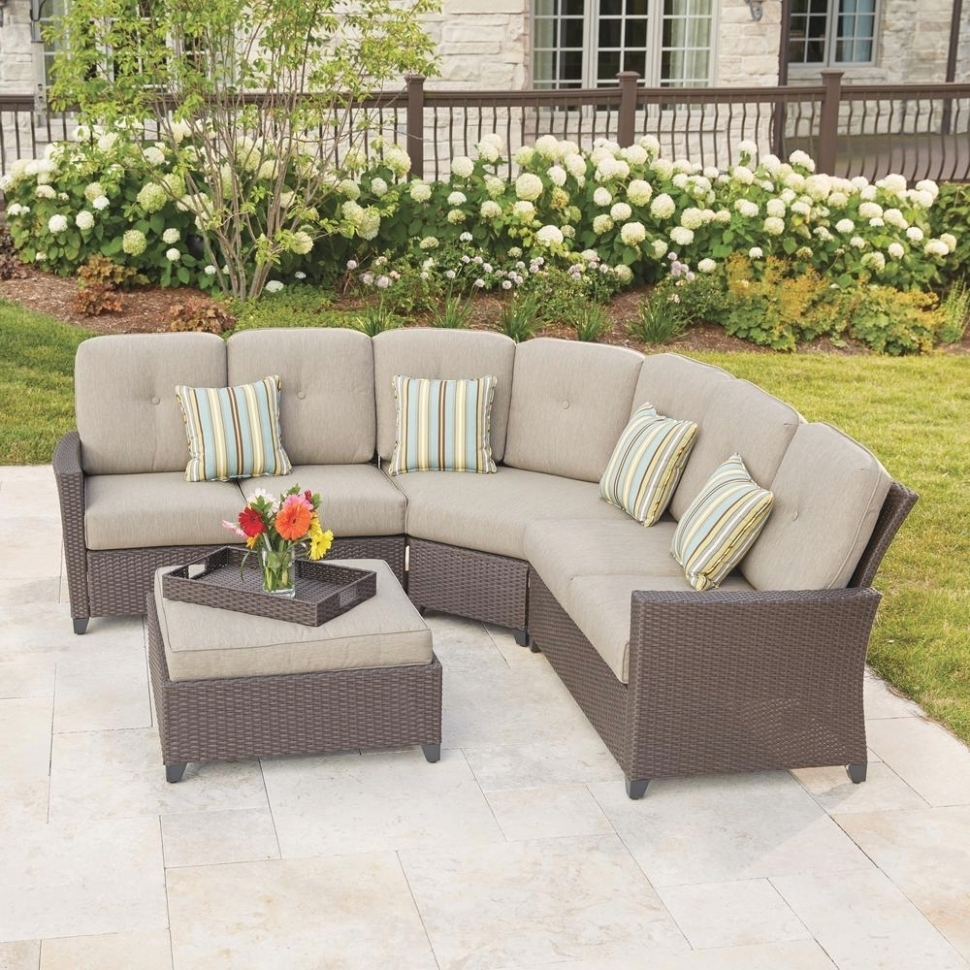 Latest 25 Best Ideas Of Outdoor Sectional Sofa Home Depot Within Home Depot Sectional Sofas (View 7 of 20)