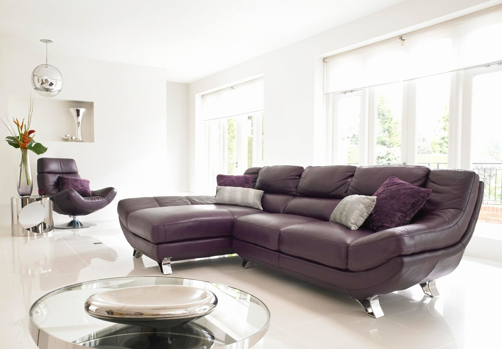 Latest 48 Fresh Purple Couch Living Room Images – Hypermallapartments Inside Dania Sectional Sofas (View 11 of 20)