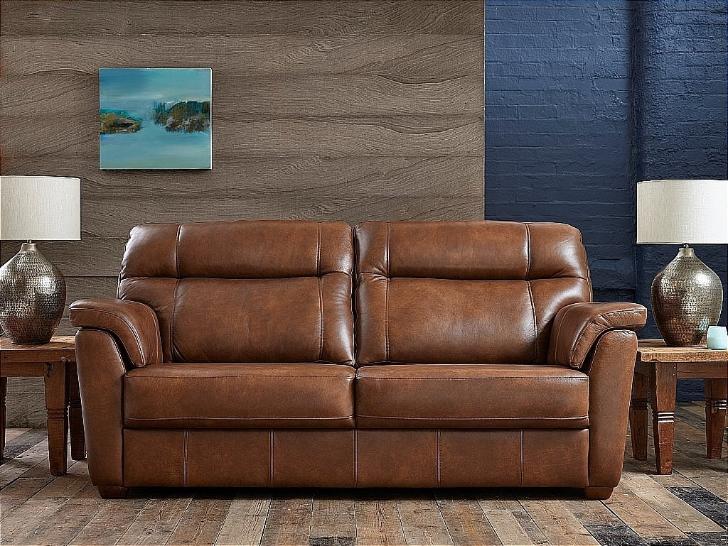 Latest Aspen Leather Sofas Inside Ashwood Aspen 3 Seater Power Recliner Sofa, 2 Seater Sofa (View 7 of 20)