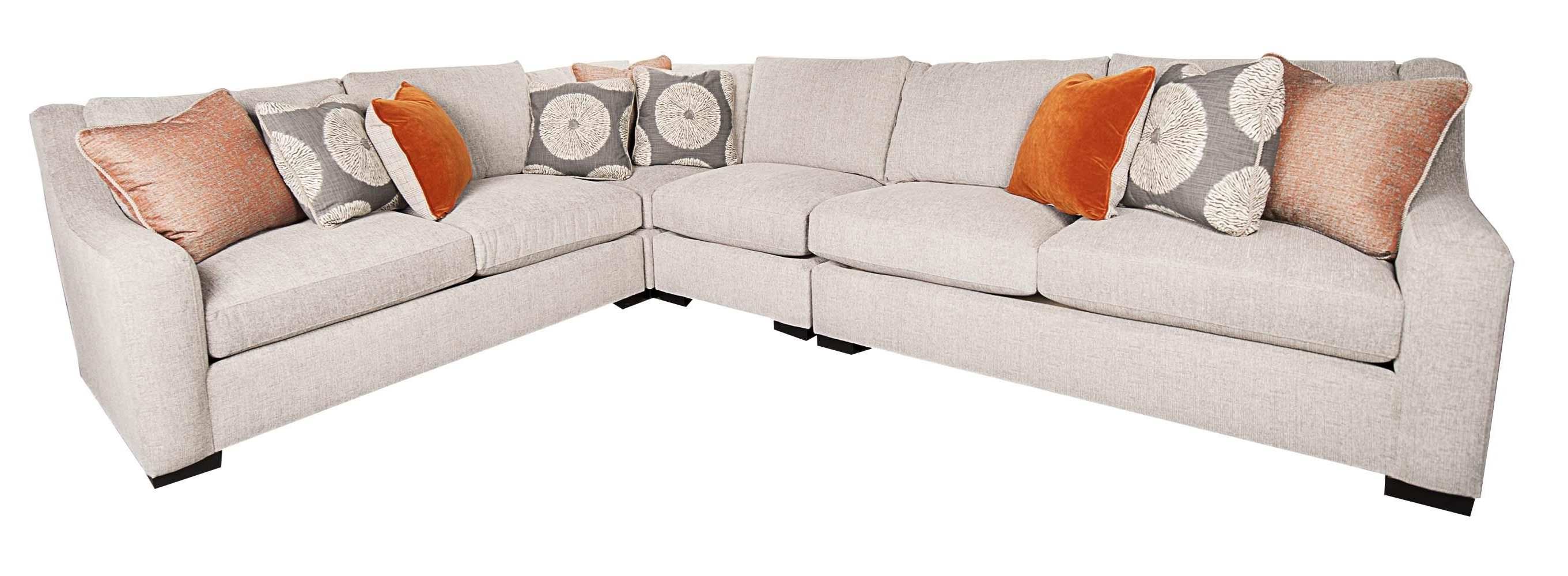 Latest Bernhardt Germain 4 Piece Sectional (View 11 of 20)