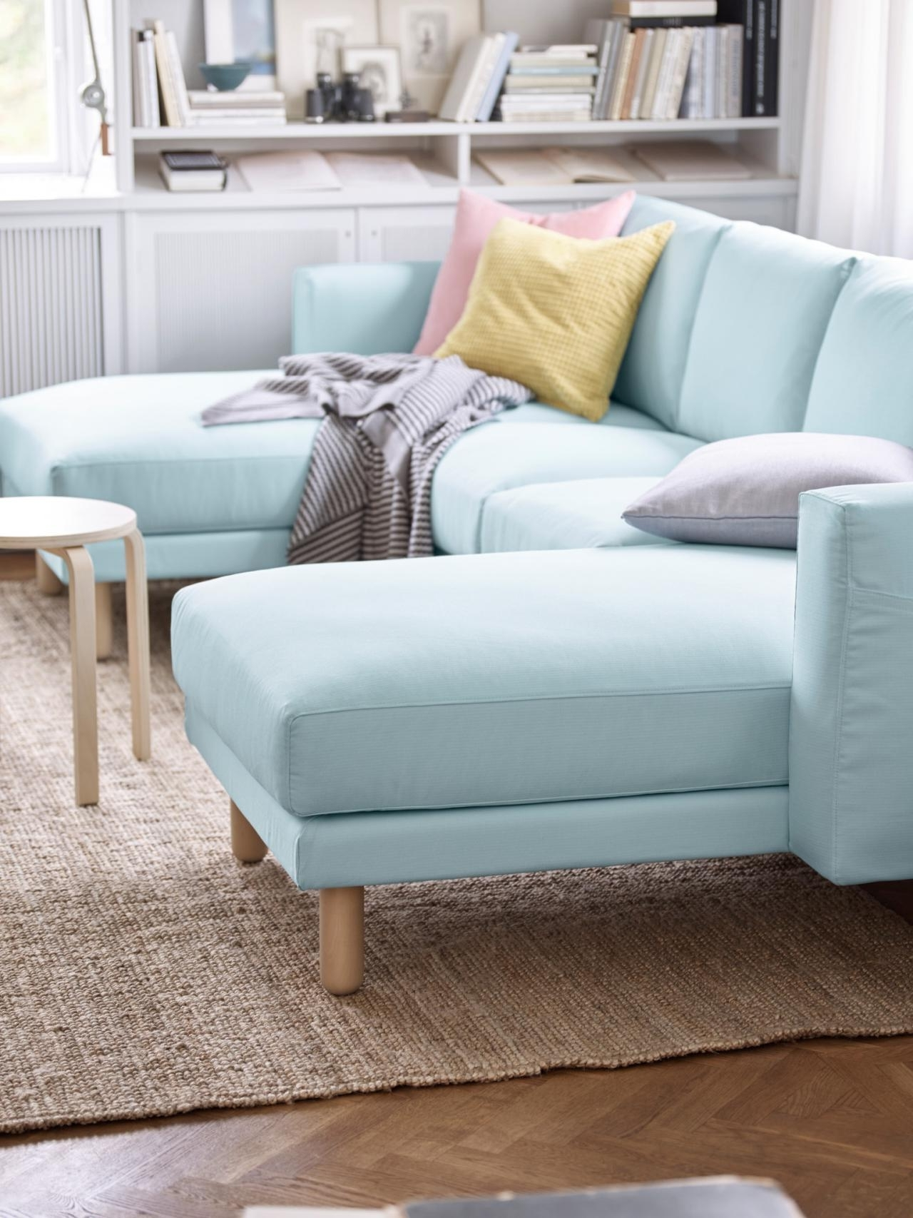 Latest Blue U Shaped Sectionals In Blue U Shaped Small Sofa Design Apartment Together With Assorted (View 9 of 20)
