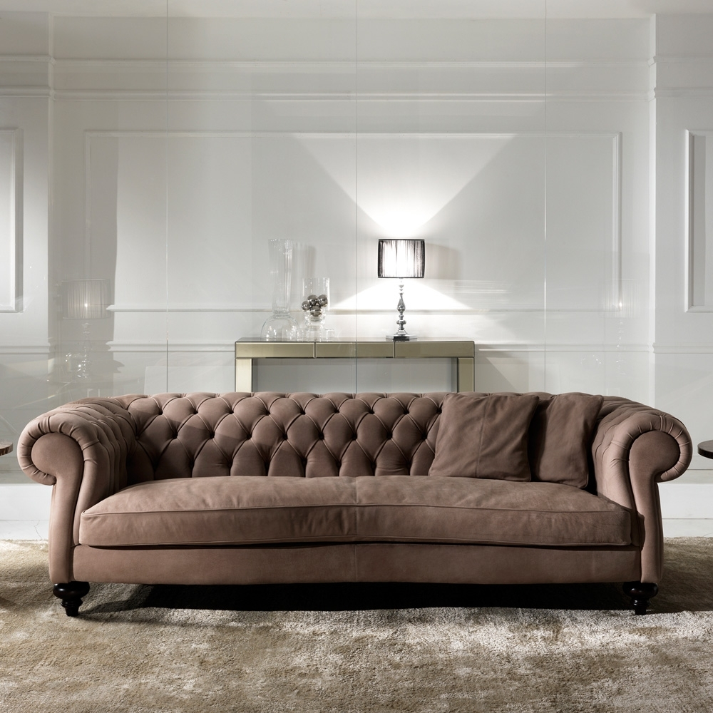 Latest Chesterfield Sofas With Regard To Italian Leather Modern Chesterfield Sofa (View 14 of 20)