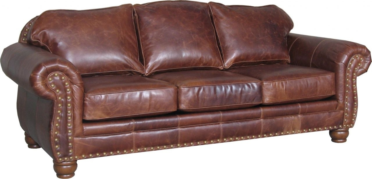 Latest Decor: Mesmerizing Brown Leather Sectional Sofa For Living Room Pertaining To Ivan Smith Sectional Sofas (View 12 of 20)