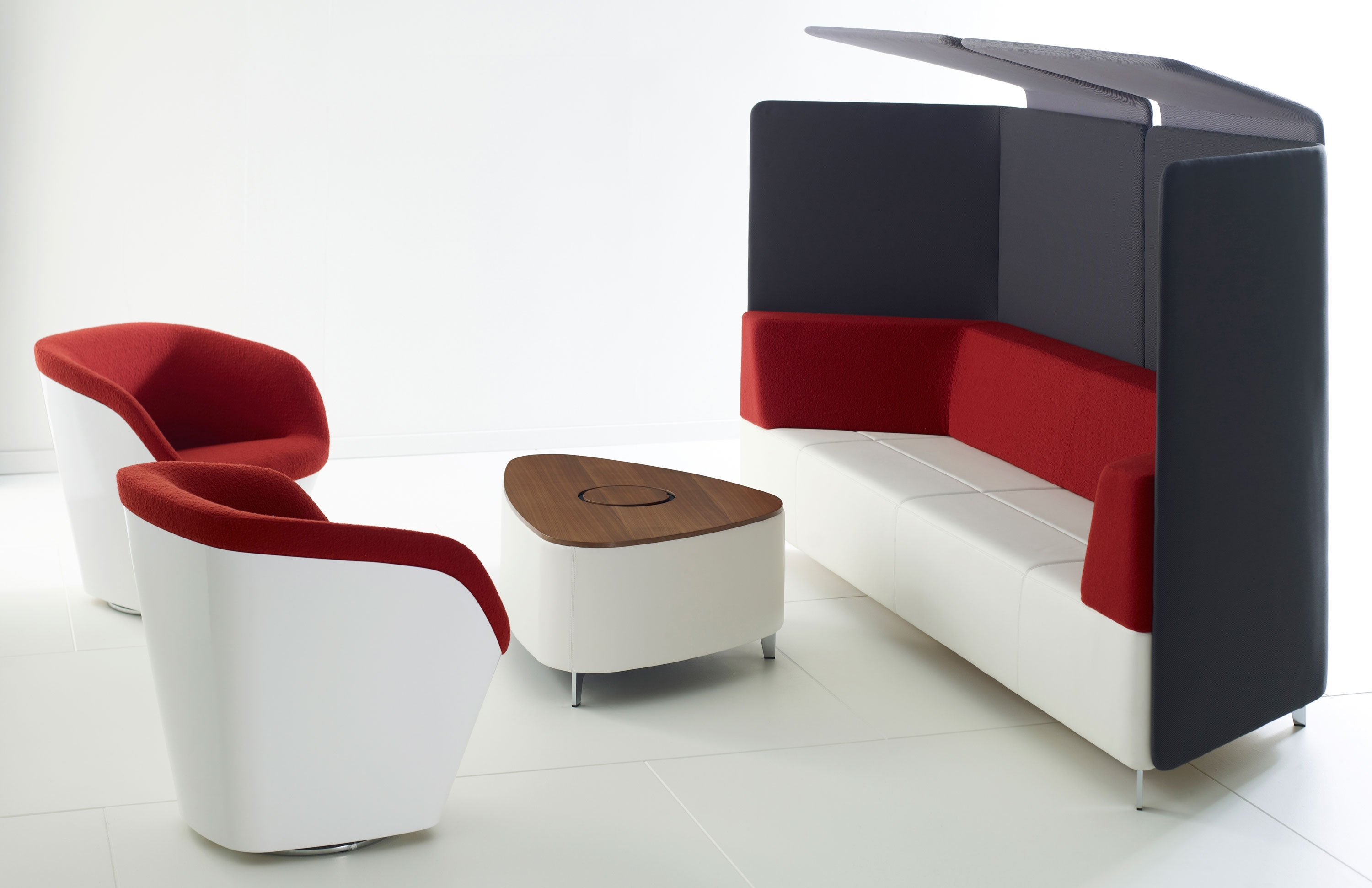 Latest Executive Office Lounge Chairs With Regard To Employee Lounges: Take A Break To Get More Done – Modern Office (View 13 of 20)