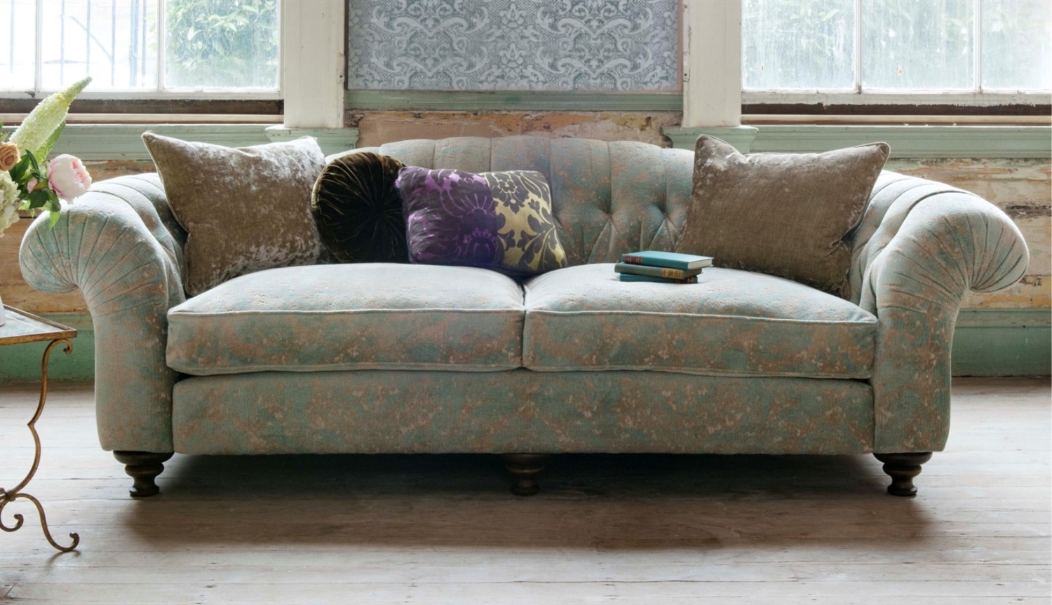 Latest Fabric Sofas Inside Sofas – Luxury Handcrafted British Fabric Sofas (View 15 of 20)