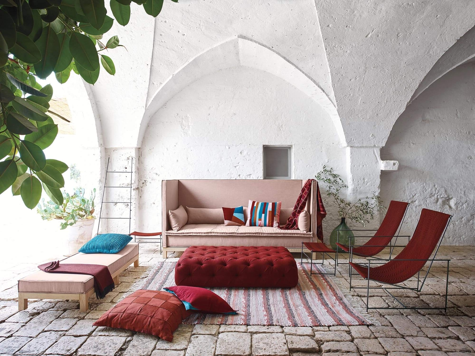 Latest Fabrics For The Home – Sunbrella Fabrics Regarding Large Sofa Chairs (View 14 of 20)