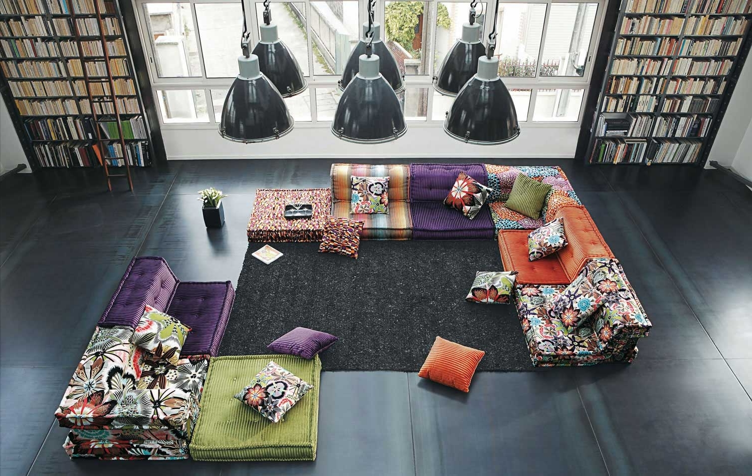 Latest Floor Cushion Sofas Pertaining To 120 Modern Sofasroche Bobois (part 1/3) (View 19 of 20)