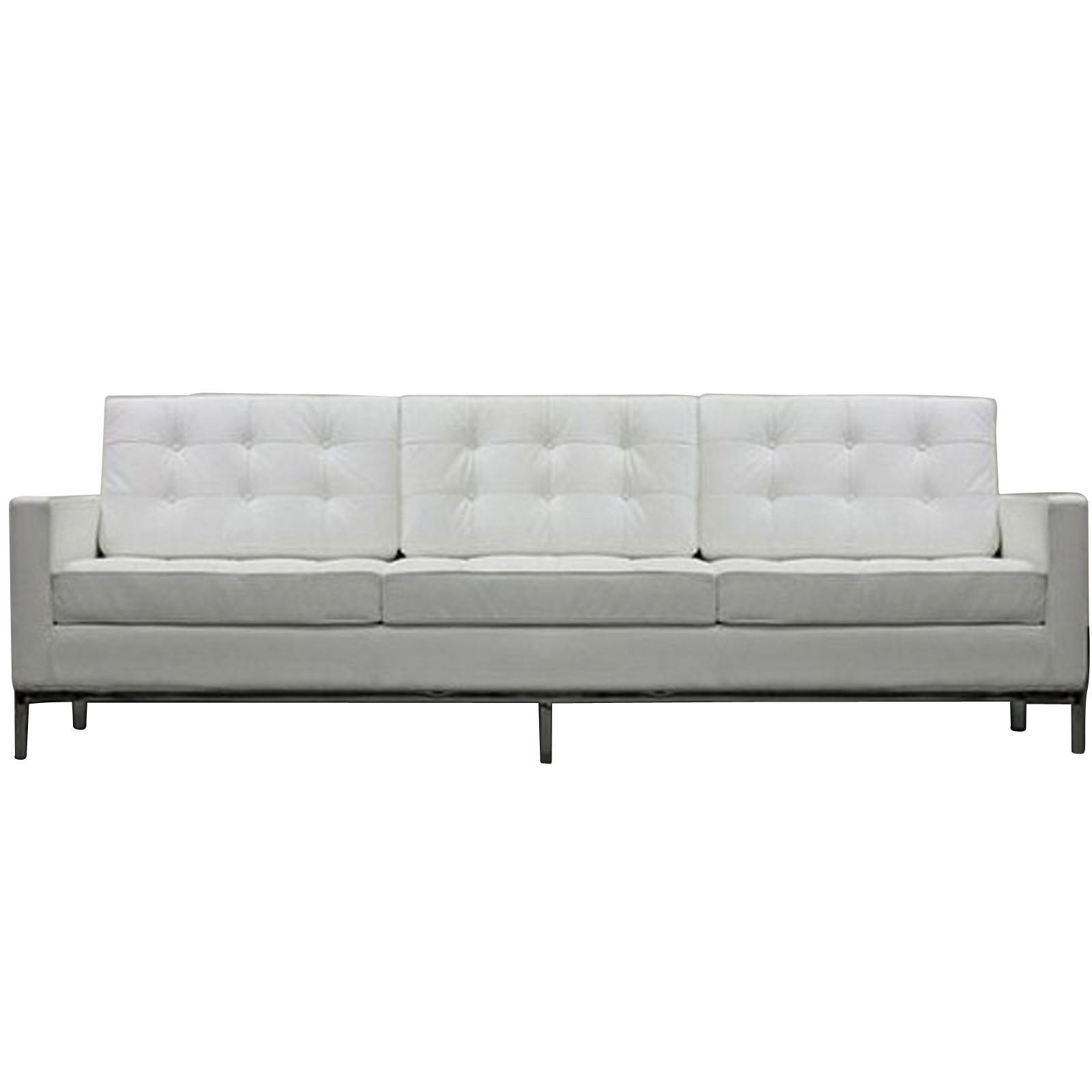 Latest Florence Knoll Style Sofa Couch – Leather In Florence Knoll Style Sofas (View 4 of 20)