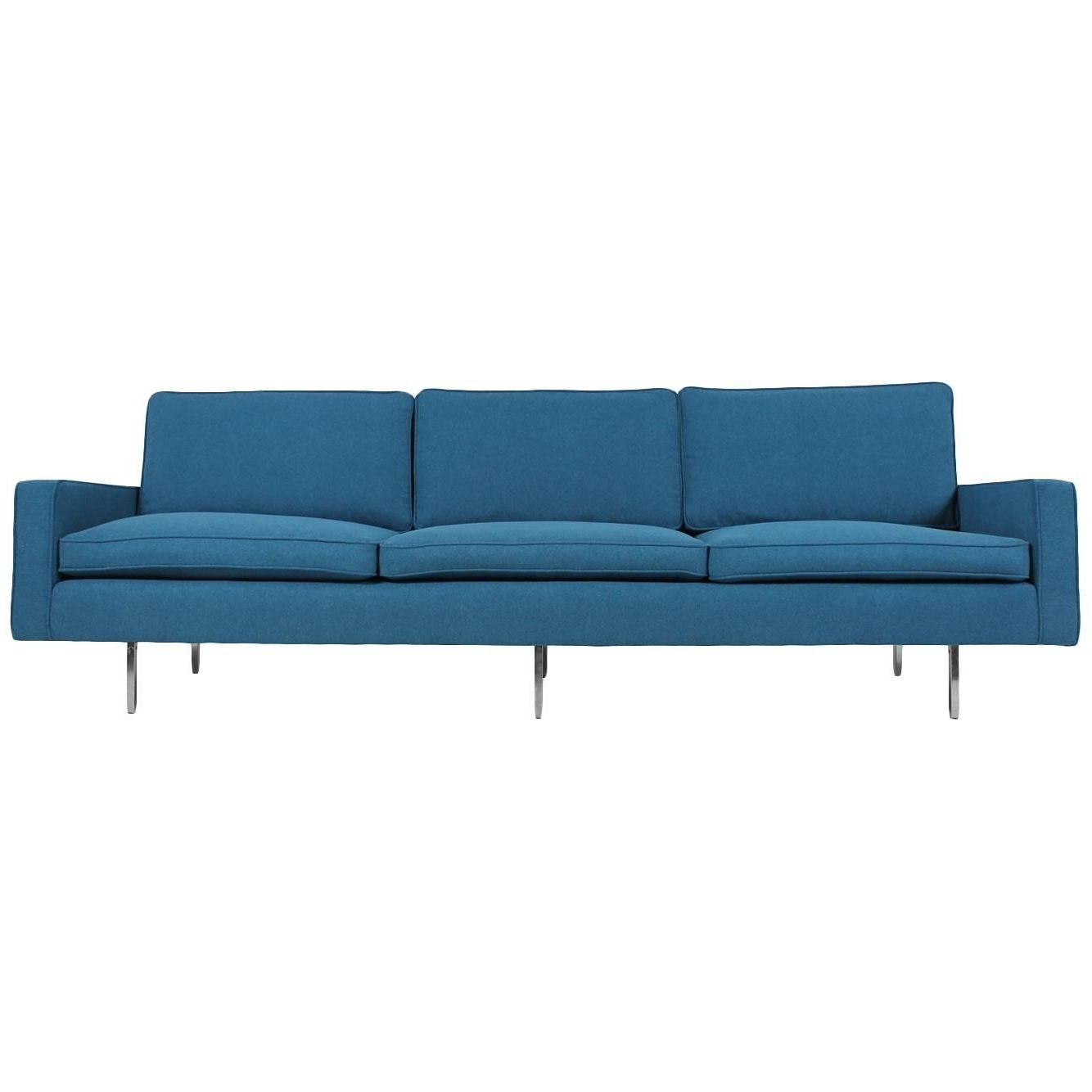 Latest Florence Medium Sofas Inside Florence Knoll Sofas – 61 For Sale At 1Stdibs (View 9 of 20)