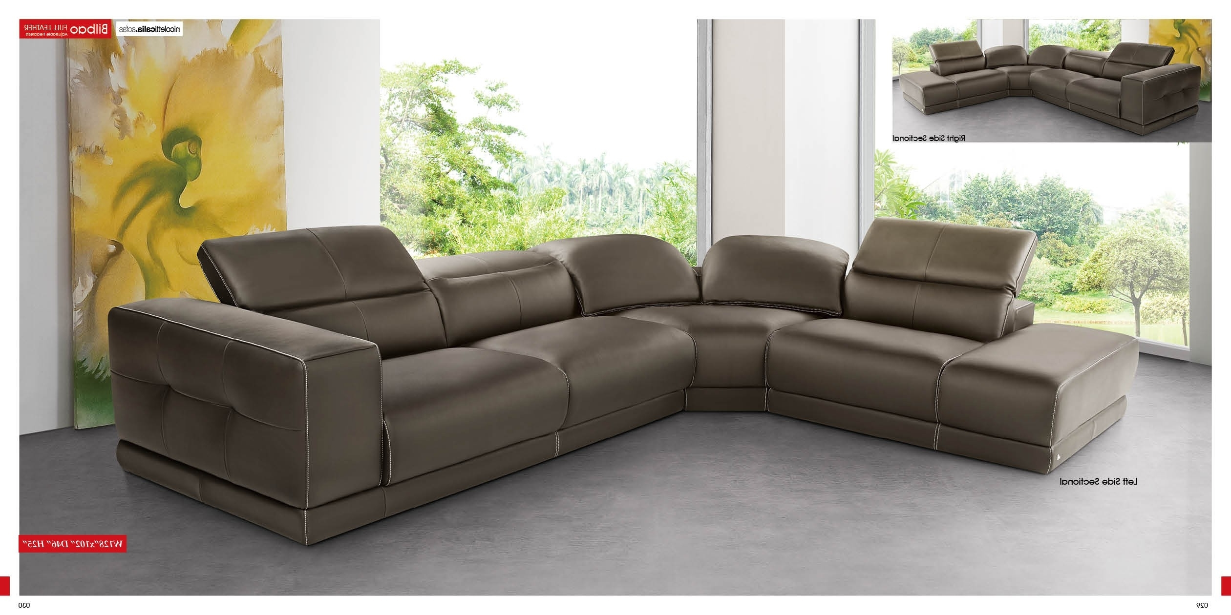 Latest Furniture : Sectional Sofa 120 Sectional Couch Guelph Recliner 3 Intended For 110X110 Sectional Sofas (View 10 of 20)