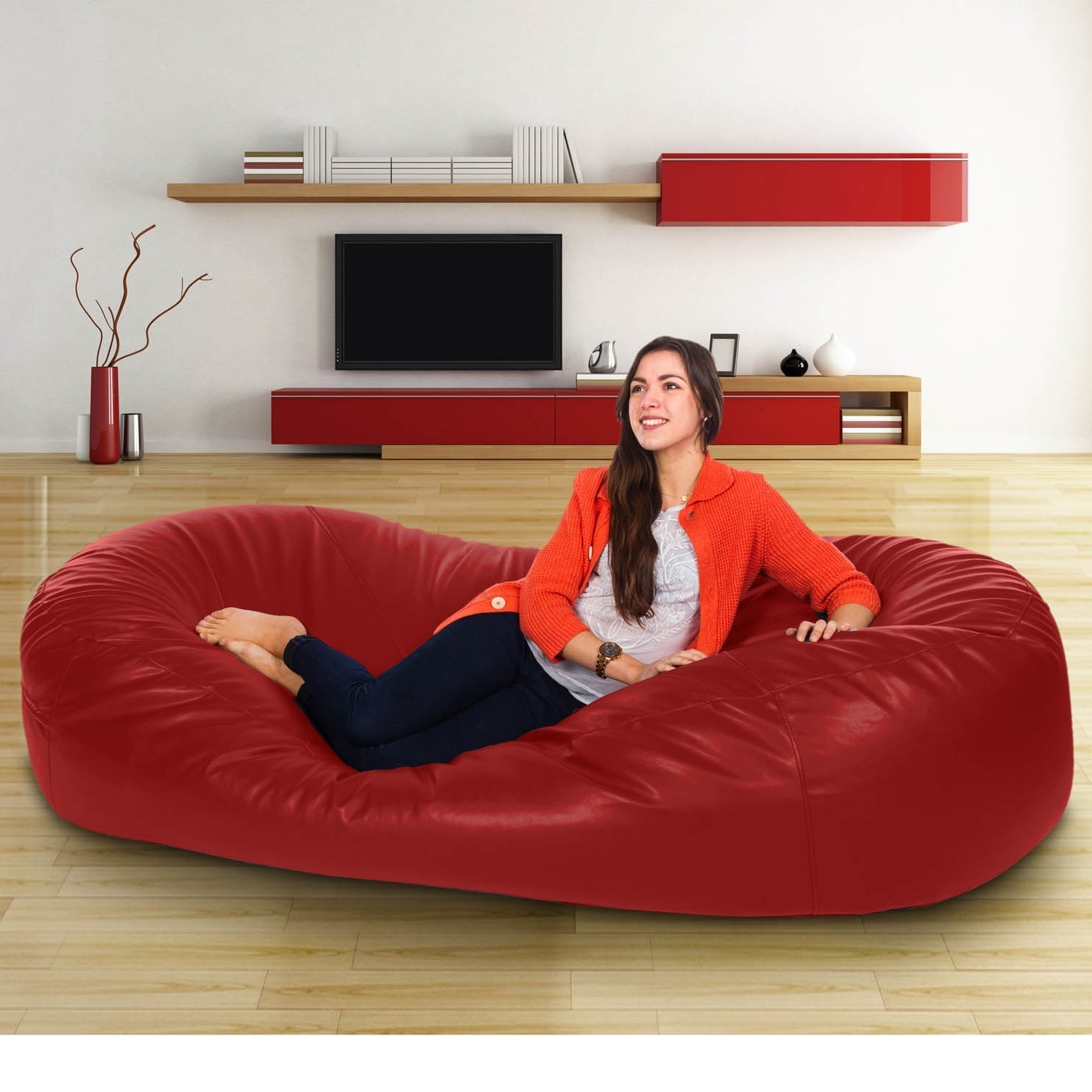 Latest Ideas To Clean Bean Bag Couch — Cabinets, Beds, Sofas And Pertaining To Bean Bag Sofas (View 18 of 20)