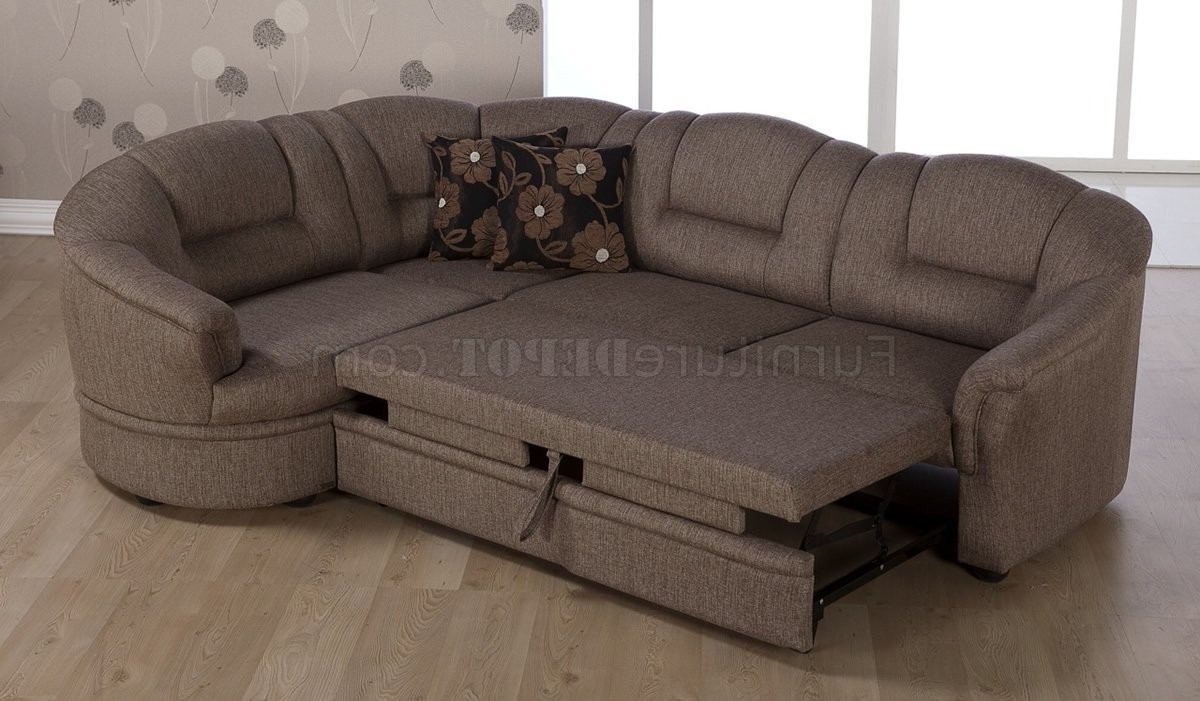 Latest Inspirational Small Convertible Sectional Sofa – Mediasupload Inside Convertible Sectional Sofas (View 5 of 20)