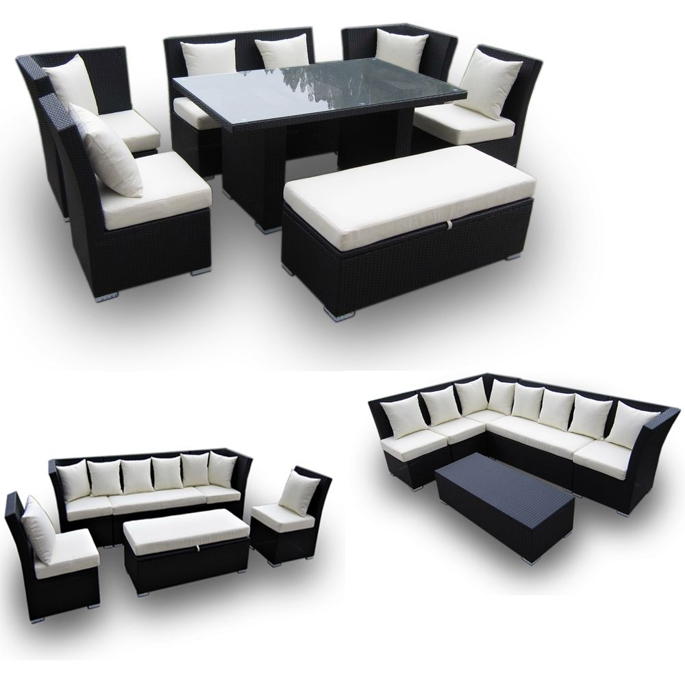 Latest Jamaica Sectional Sofas With Jamaican Multipurpose Sectional Dining And Sofa Set – Great 2 For (View 12 of 20)