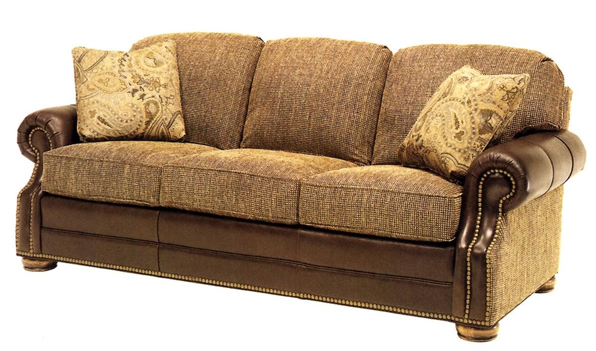 Latest Leather And Cloth Sofa – Radiovannes Pertaining To Leather And Cloth Sofas (View 2 of 20)
