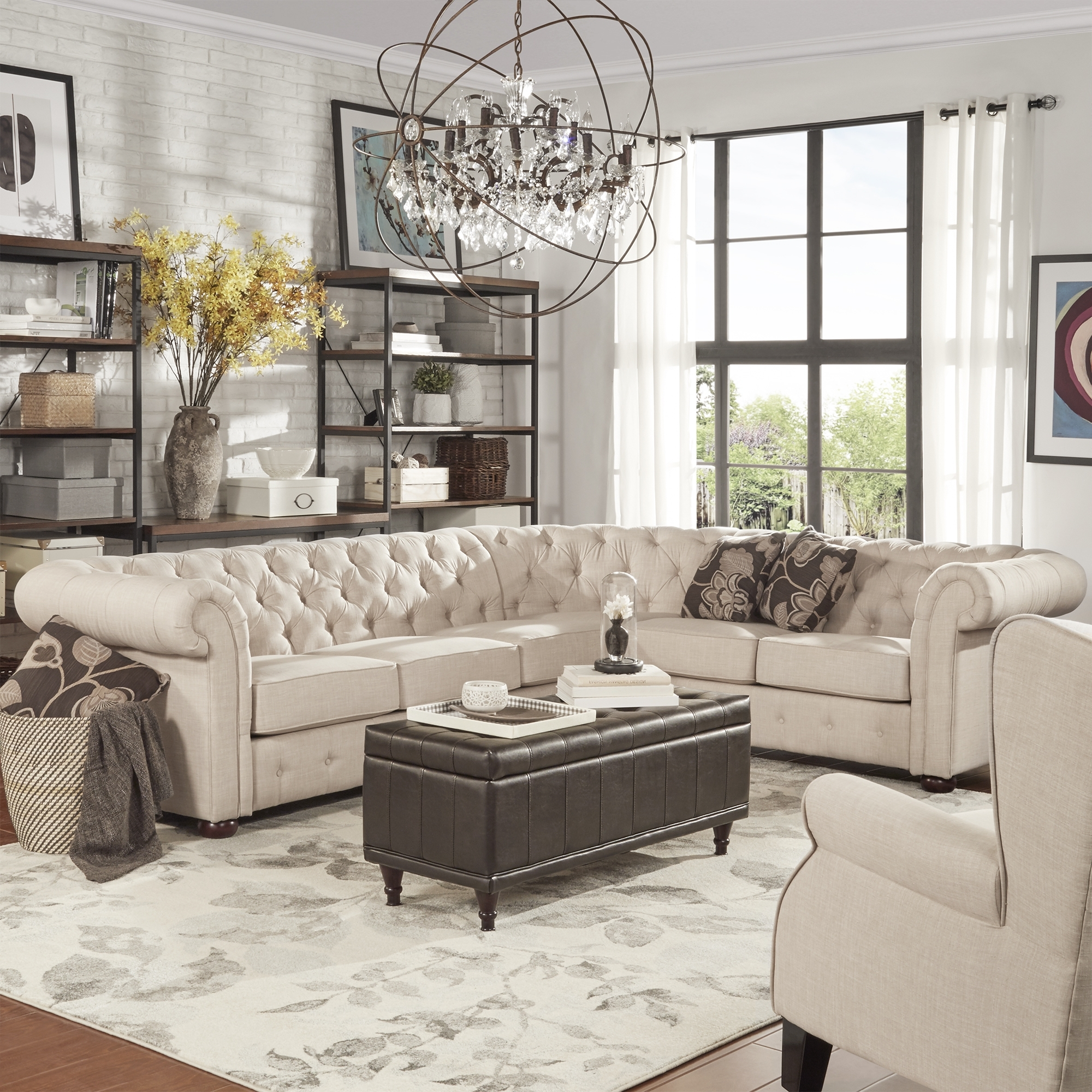 Latest Media Room Sectional Sofas Within Bring Comfort And Style To Your Living Area With This Sectional (View 6 of 20)