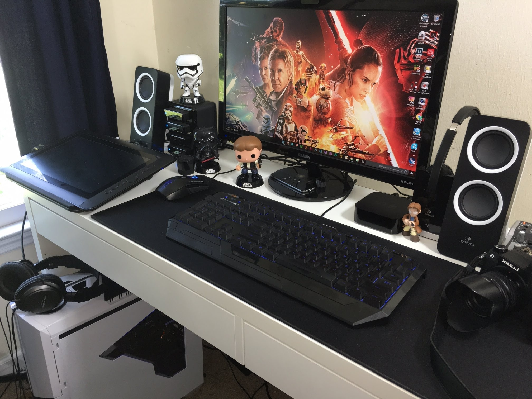 Latest My New Desk Setup And 4K Video Editing Pc Build #deskwars – Youtube Throughout Computer Editing Desks (View 11 of 20)