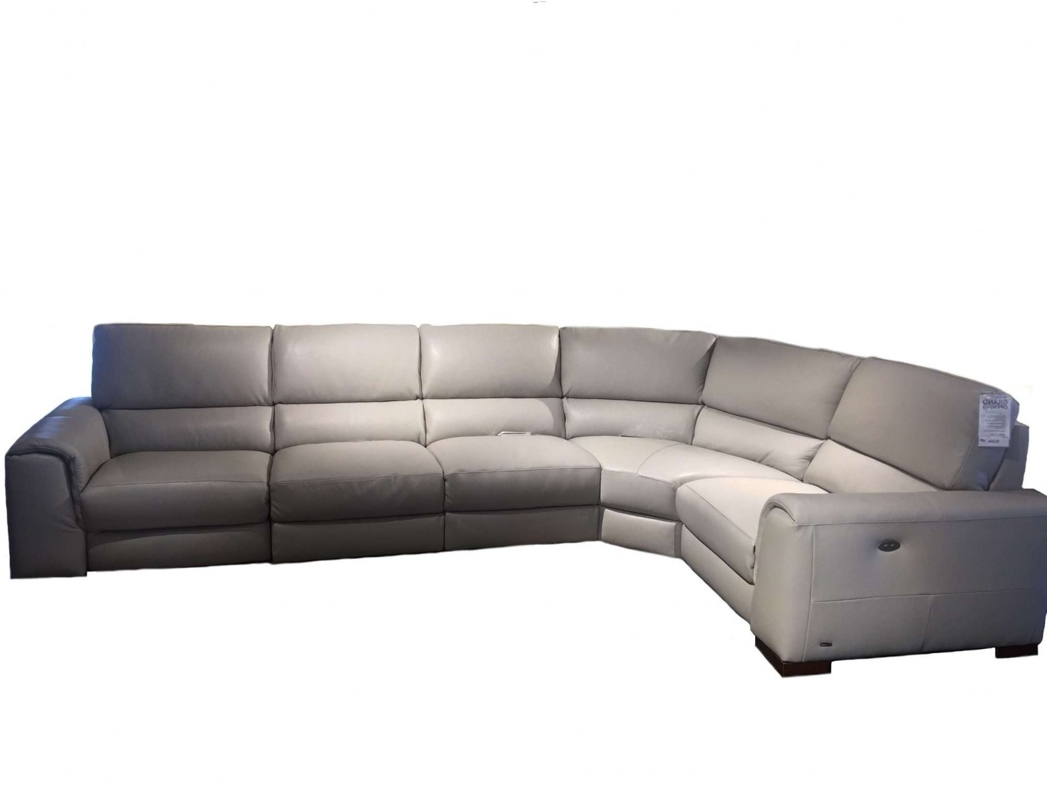 Latest Natuzzi Sectional Sofas In Natuzzi Editions Davide Leather Sectional (View 6 of 20)