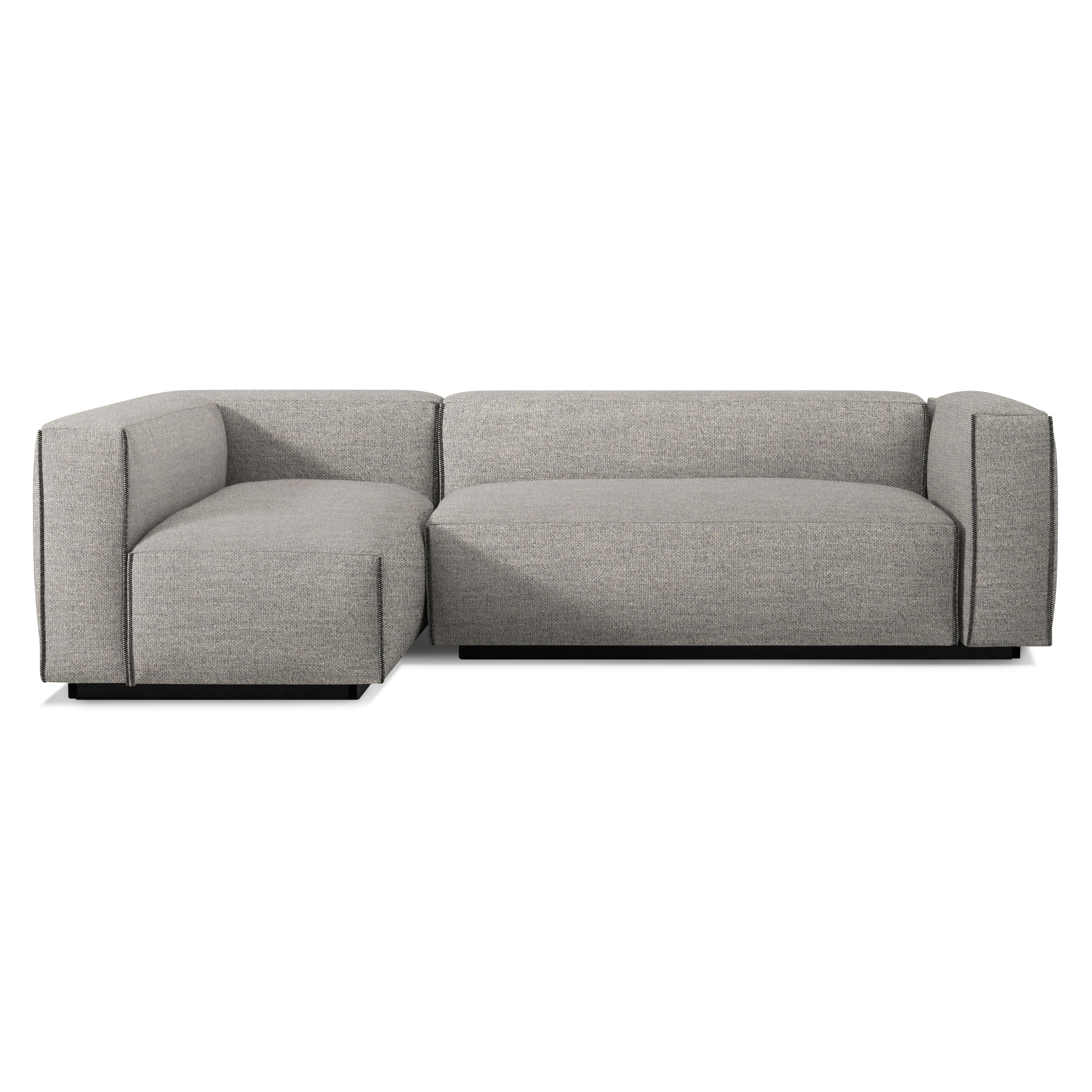 Latest Newmarket Ontario Sectional Sofas Throughout Cleon Small Modern Sectional Sofa (View 4 of 20)