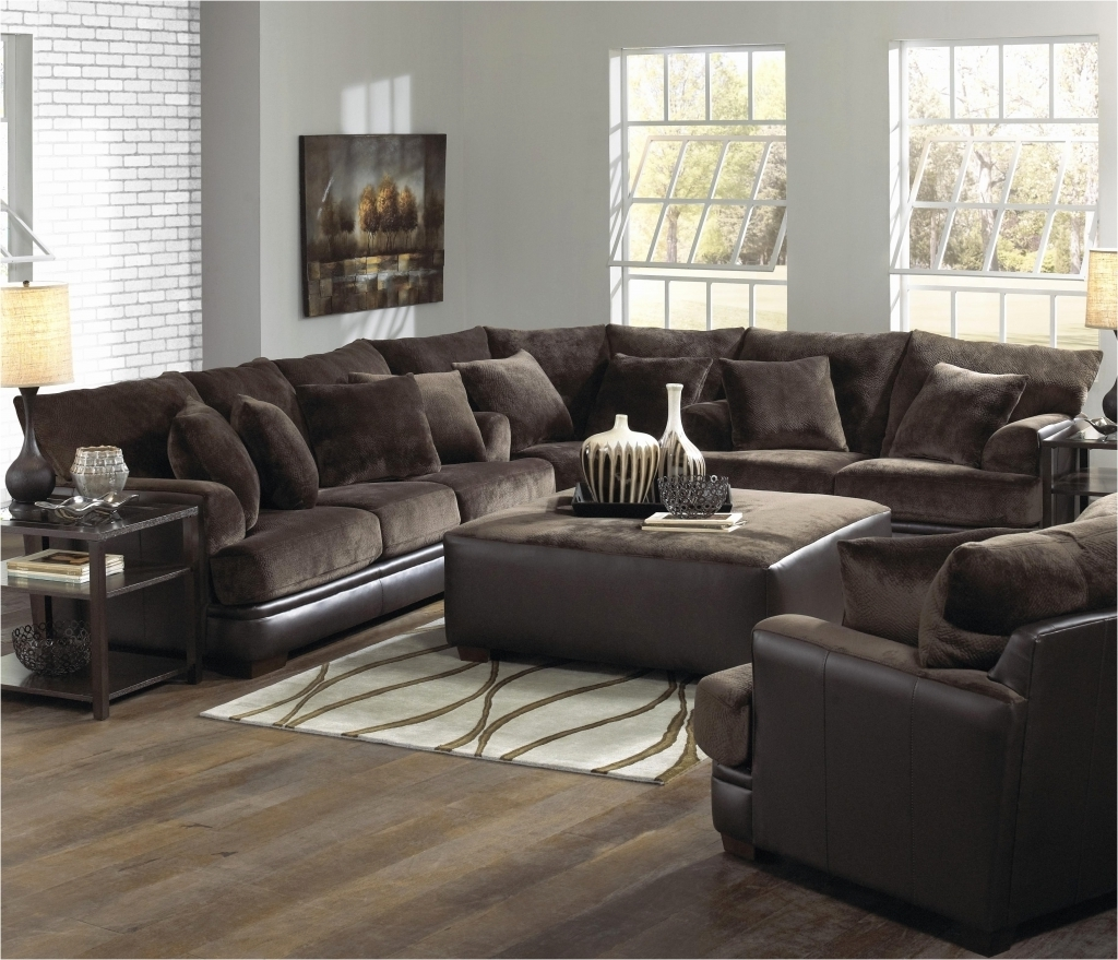 Latest Oshawa Sectional Sofas Intended For Furniture: Microsuede Sectional Elegant Living Room Unique (View 9 of 20)