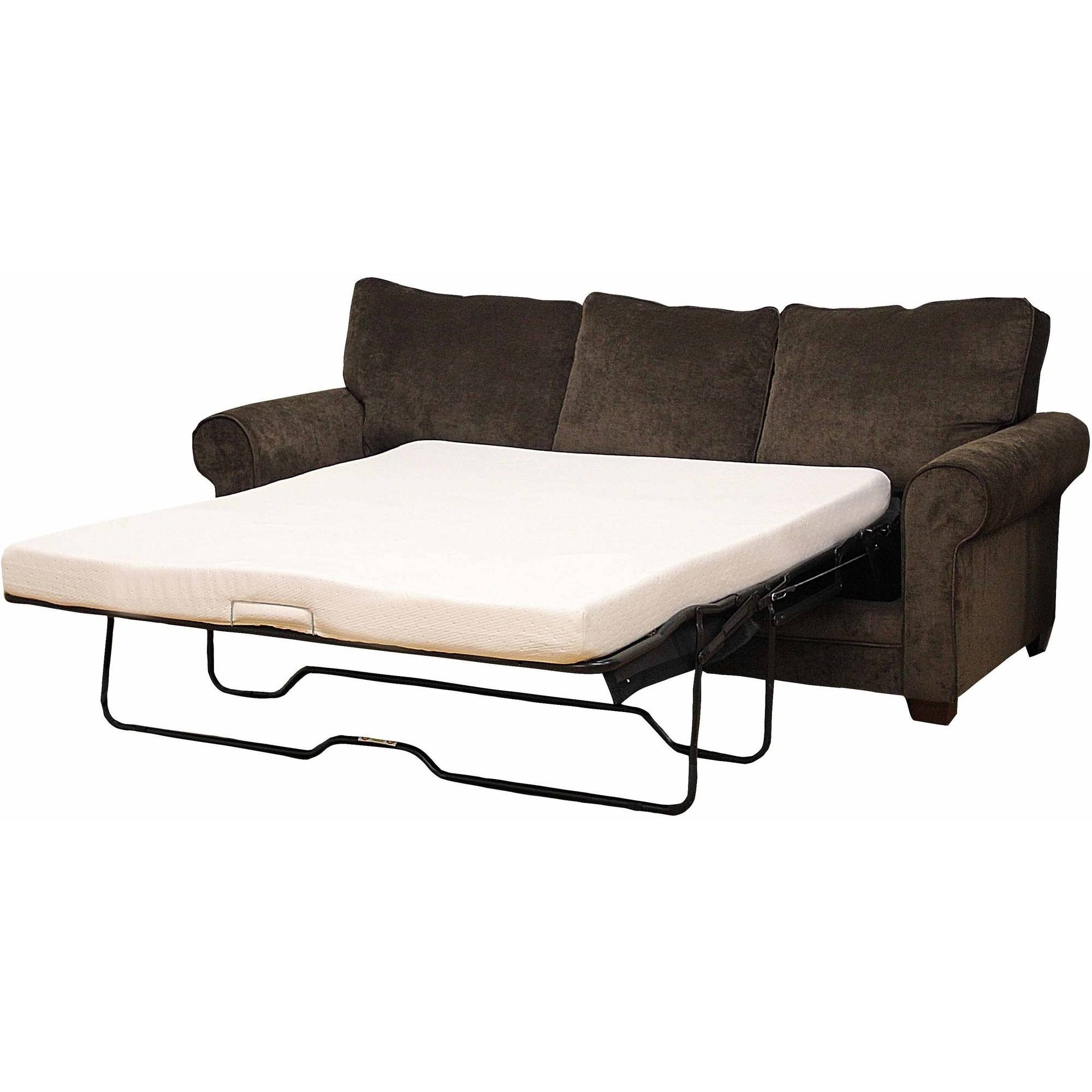 Latest Pull Out Sofa Chairs Regarding Modern Sleep Memory Foam Replacement Sofa Bed  (View 19 of 20)