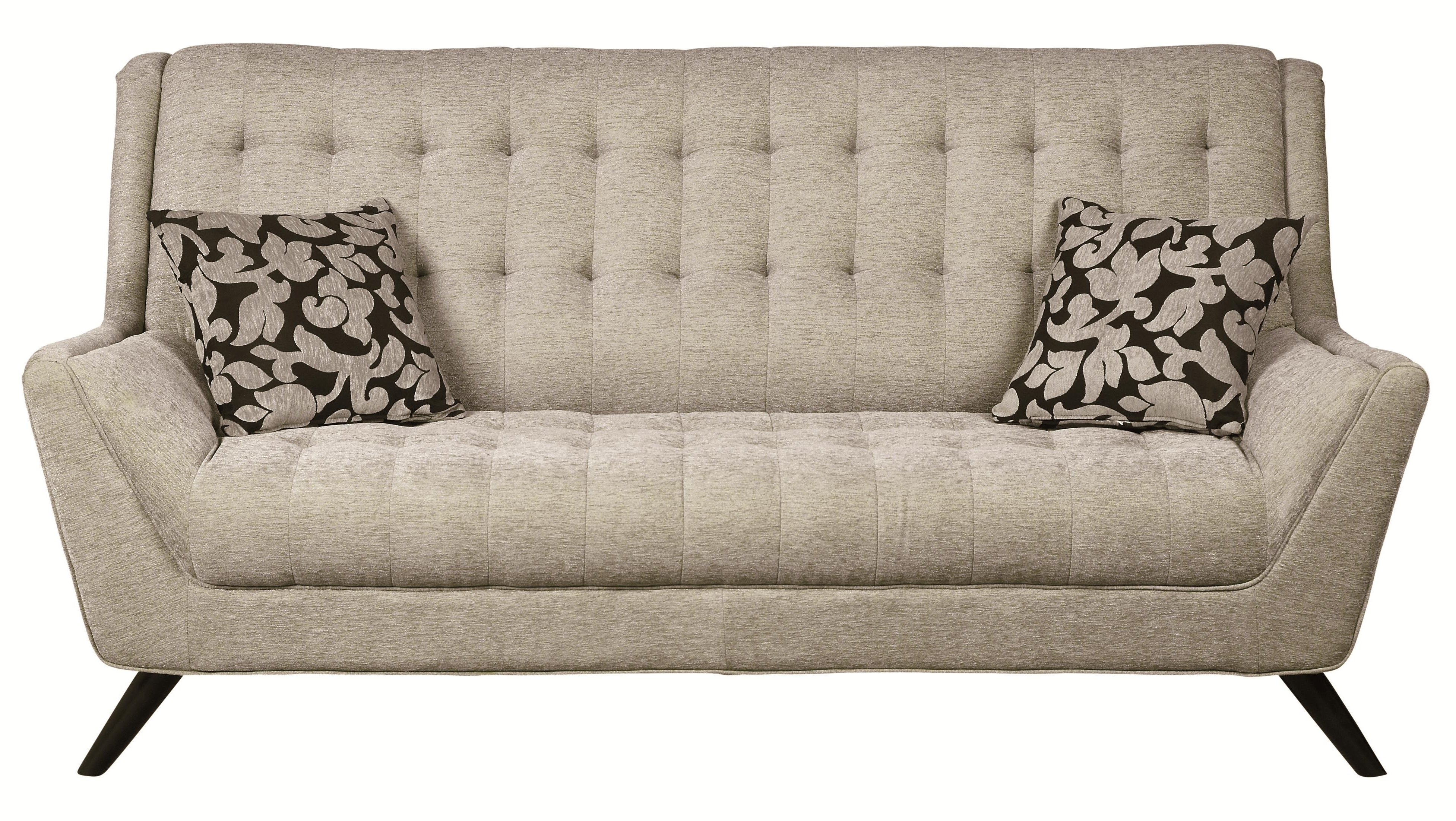 Latest Retro Sofas Throughout Coaster Natalia 503771 Retro Sofa W/ Flared Arms (View 8 of 20)