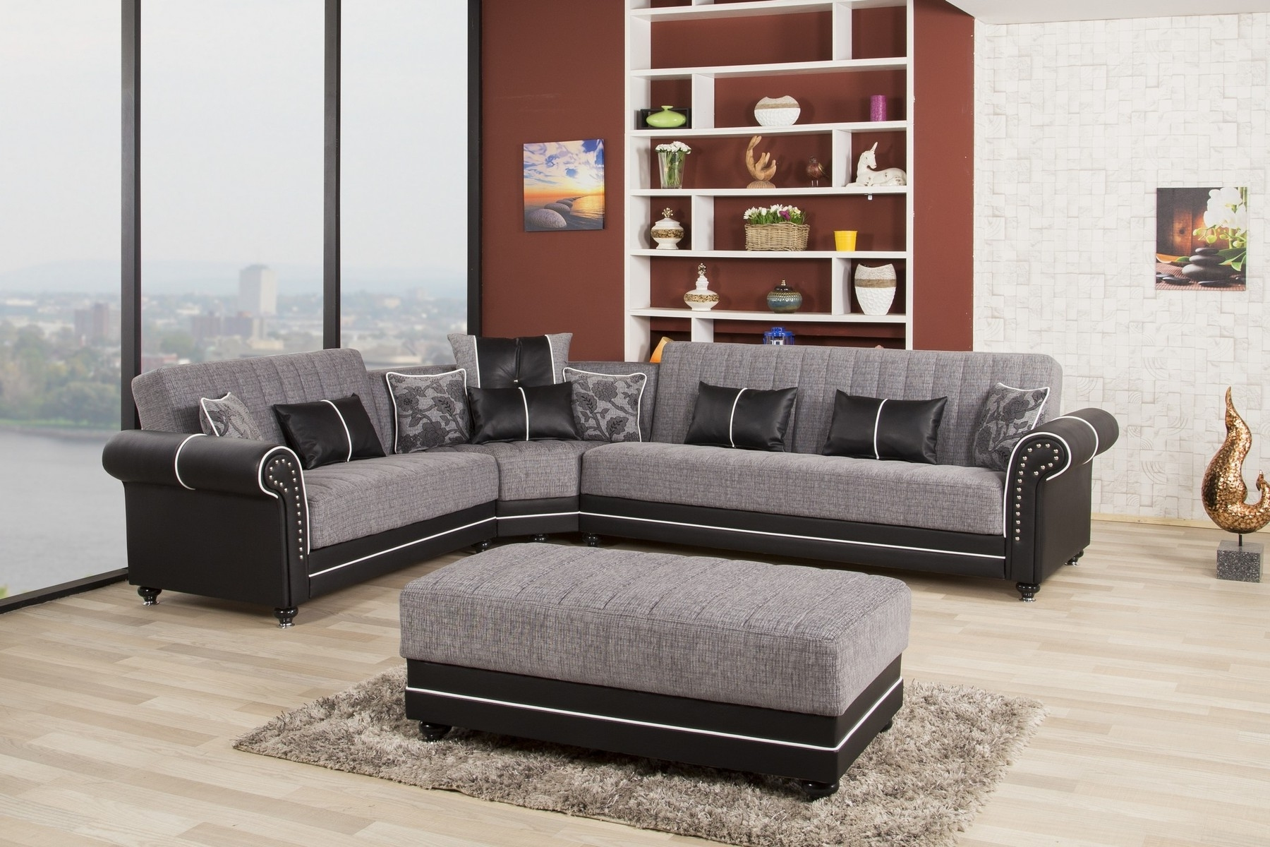 Latest Royal Furniture Sectional Sofas With Royal Home Gray Sectional Sofa Royalhome Casamode Furniture (View 5 of 20)