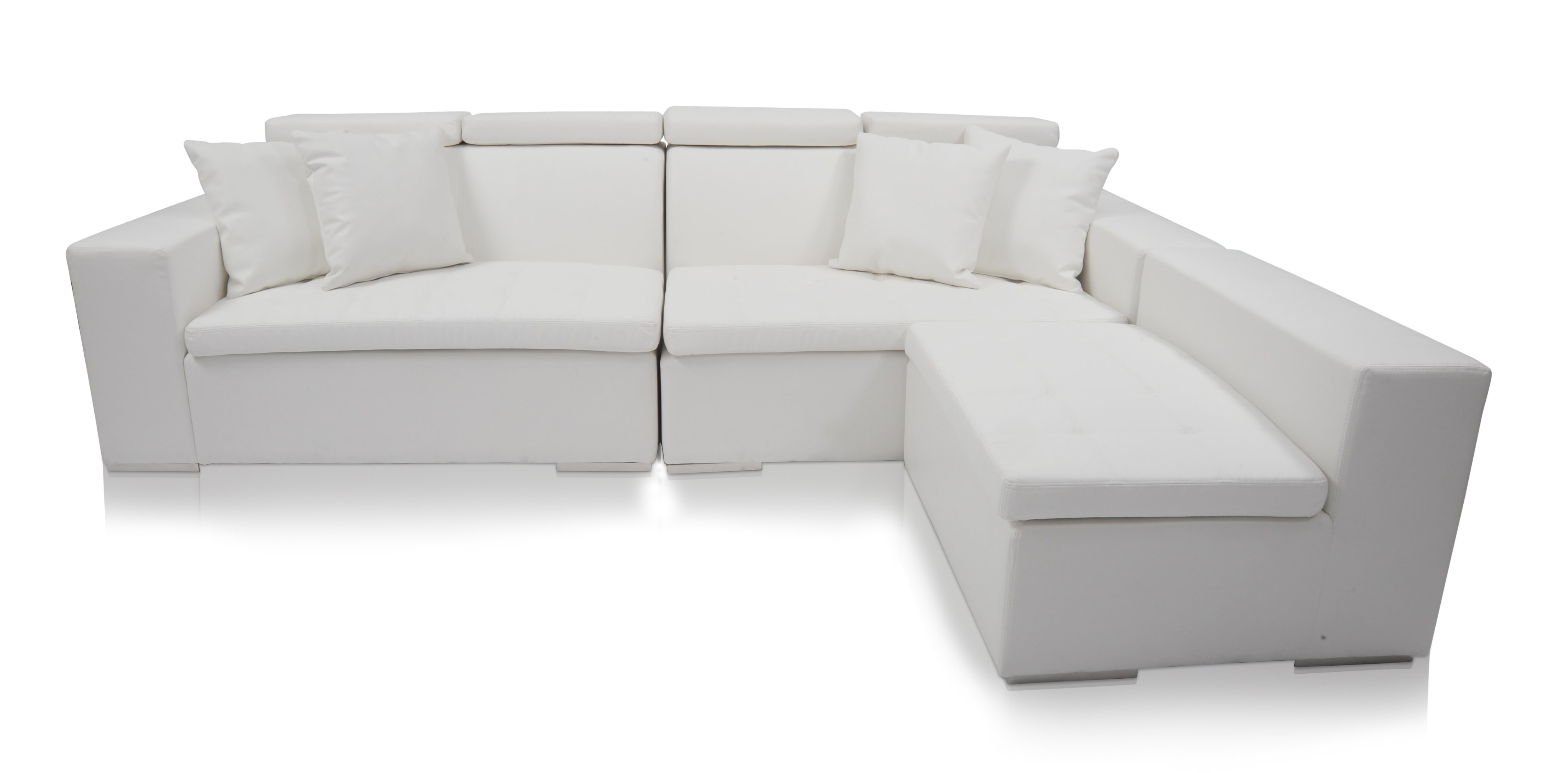Latest Sectional Modern Sofa Interior White Button Leather Furniture Intended For Sectional Sofas At Bc Canada (View 8 of 20)