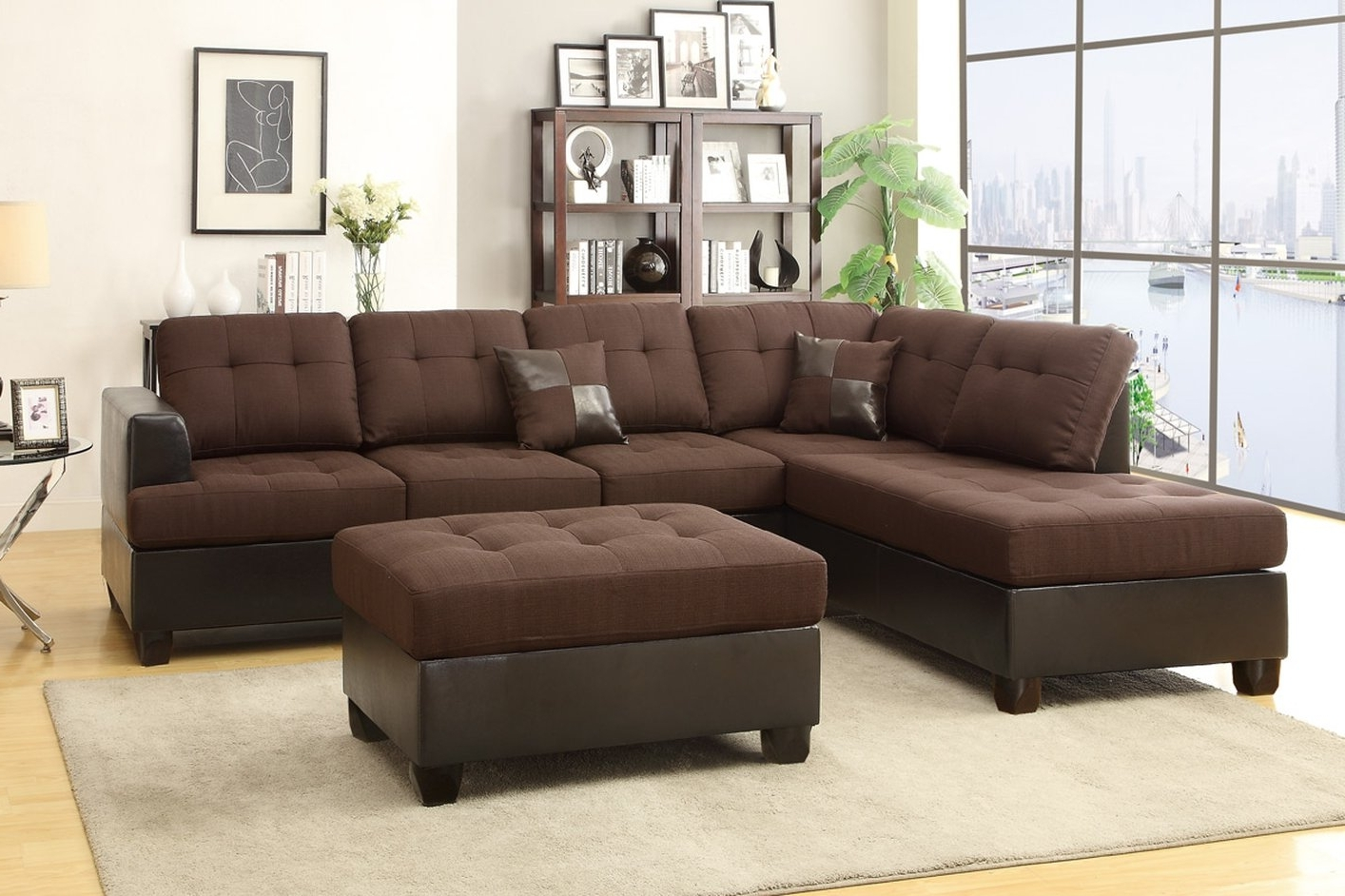 Latest Sectional Sofa Design: Super Chocolate Brown Sectional Sofa Throughout Chocolate Brown Sectional Sofas (View 11 of 20)