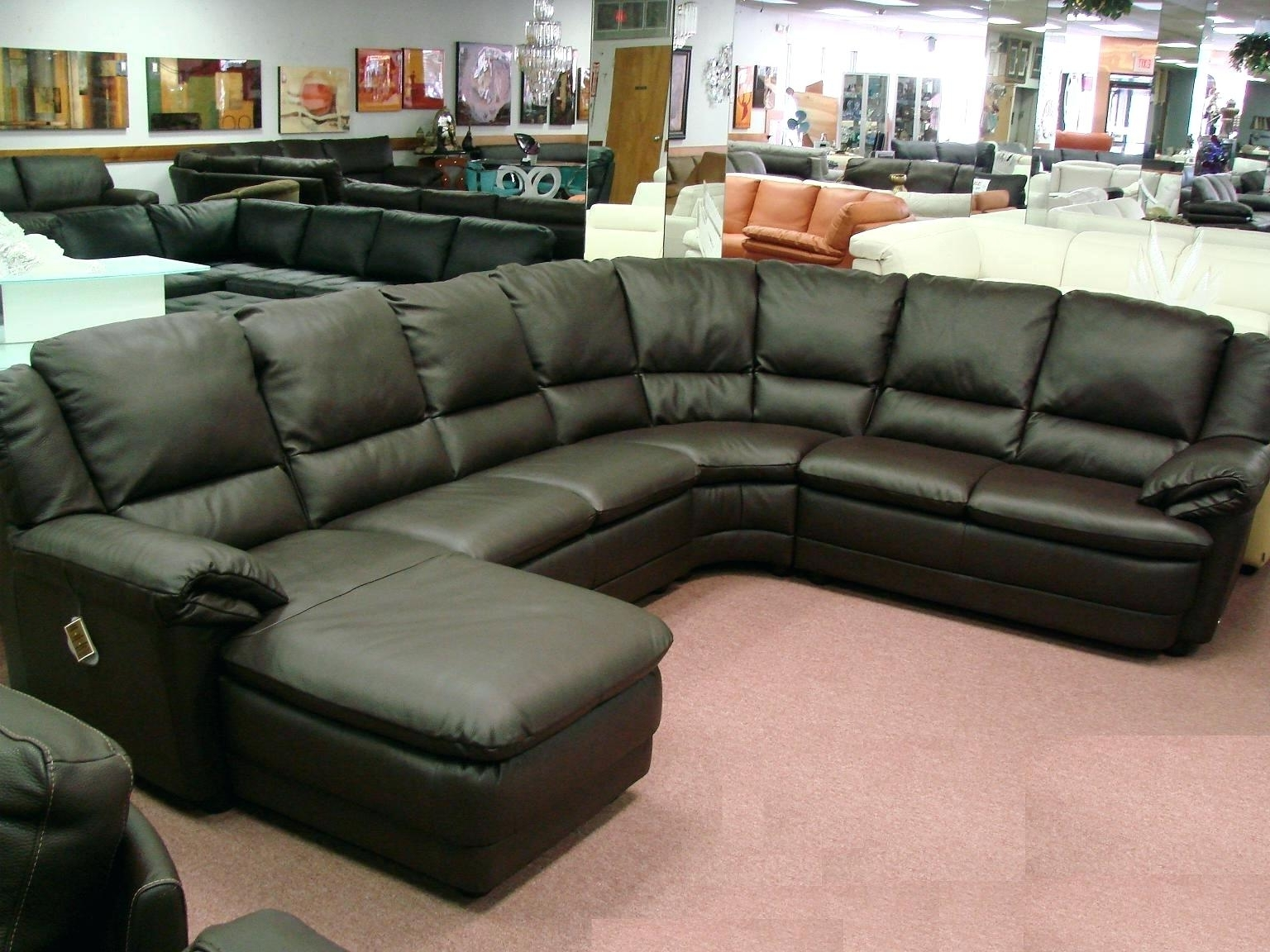 Gallery Of Sectional Sofas At Calgary