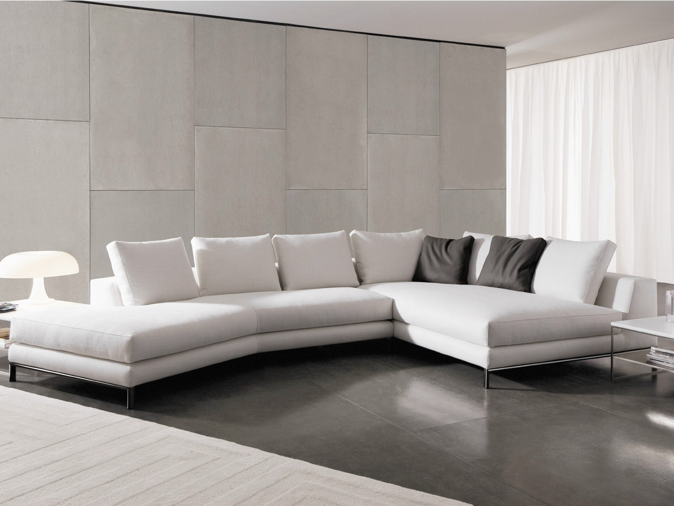 Latest Sectional Upholstered Fabric Sofa Hamilton Islands Hamilton Series Inside Hamilton Sectional Sofas (View 5 of 20)