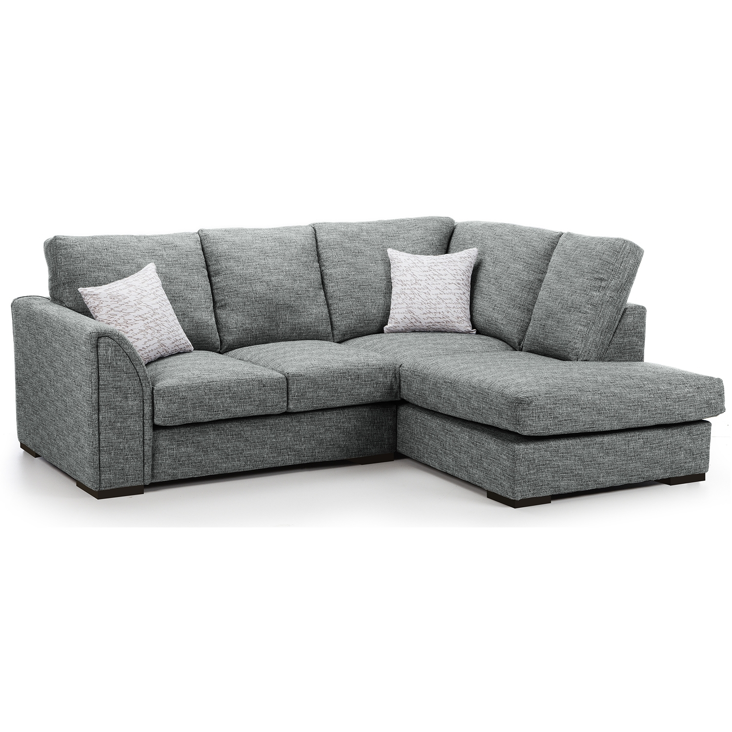 Latest Sofa : Trendy Fabric Corner Sofa Modern Bed For Living Room With Regarding Fabric Corner Sofas (View 11 of 20)