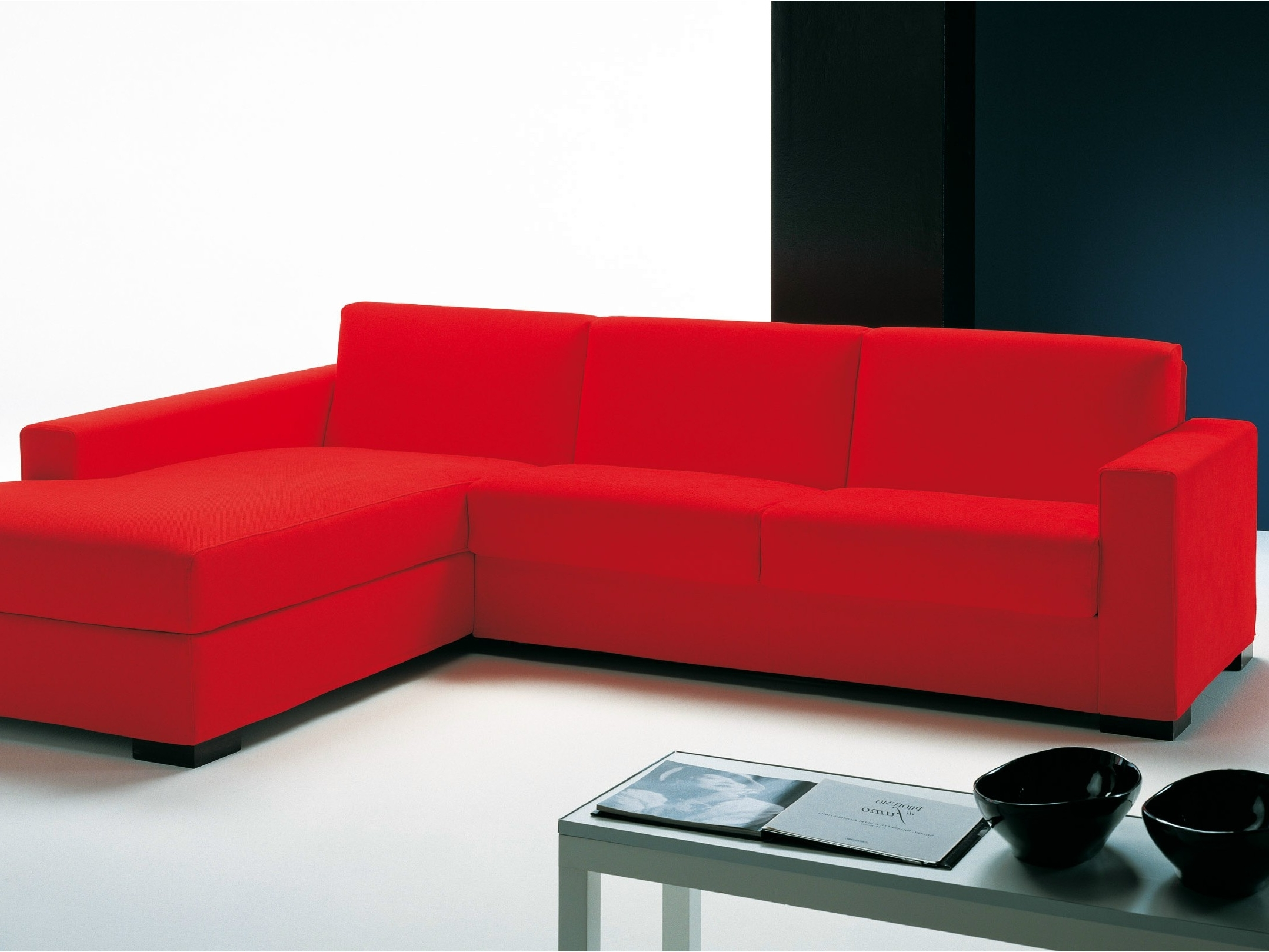 Latest Sofas : Red Sectional Cheap Sectional Sofas U Shaped Couch Throughout Small Red Leather Sectional Sofas (View 6 of 20)