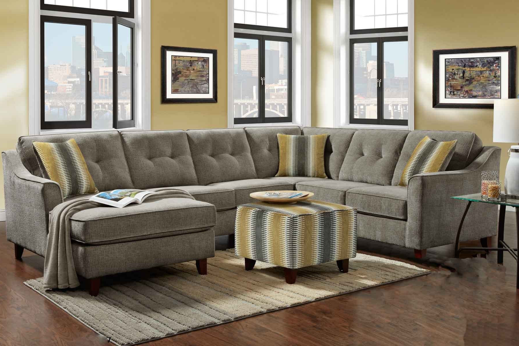 Latest Sydney Sectional Sofas Within Gray Sectional (View 20 of 20)