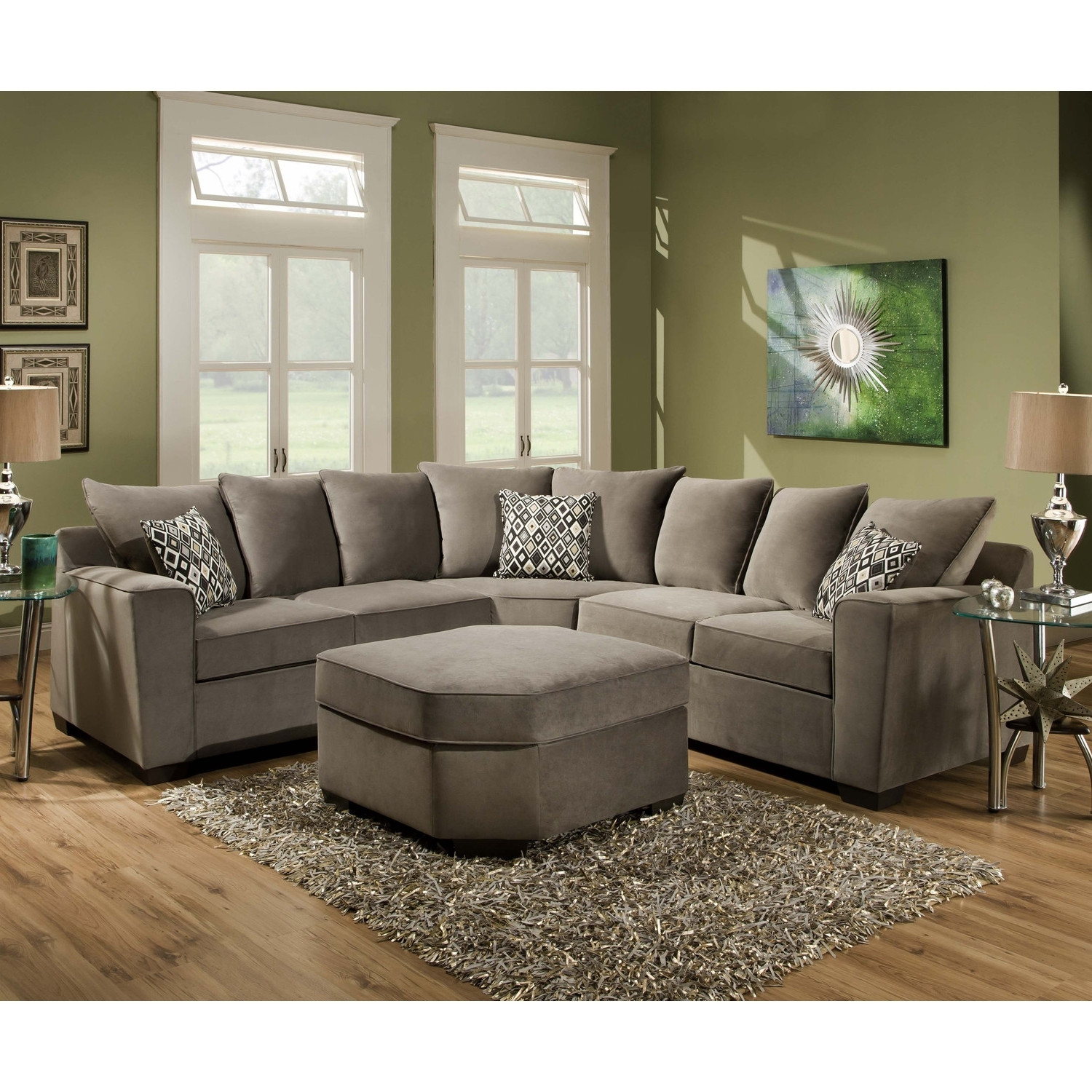 Latest Trend Of Plush Sectional Sofas 19 About Remodel Sectional For Best And Newest Plush Sectional Sofas (View 5 of 20)