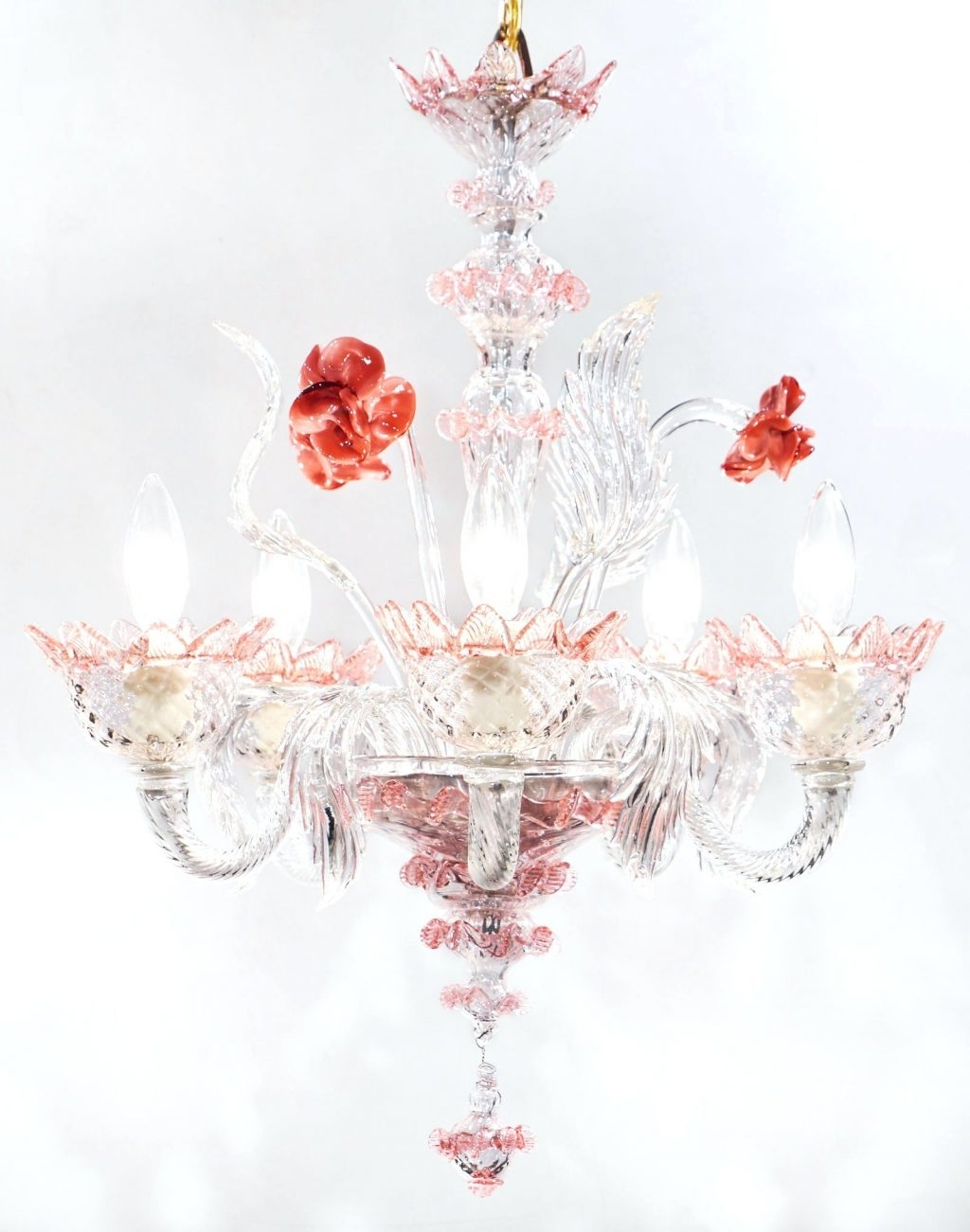Latest Turquoise And Pink Chandeliers Within Chandeliers Design : Marvelous Acrylic Chandelier Pink French (View 5 of 20)
