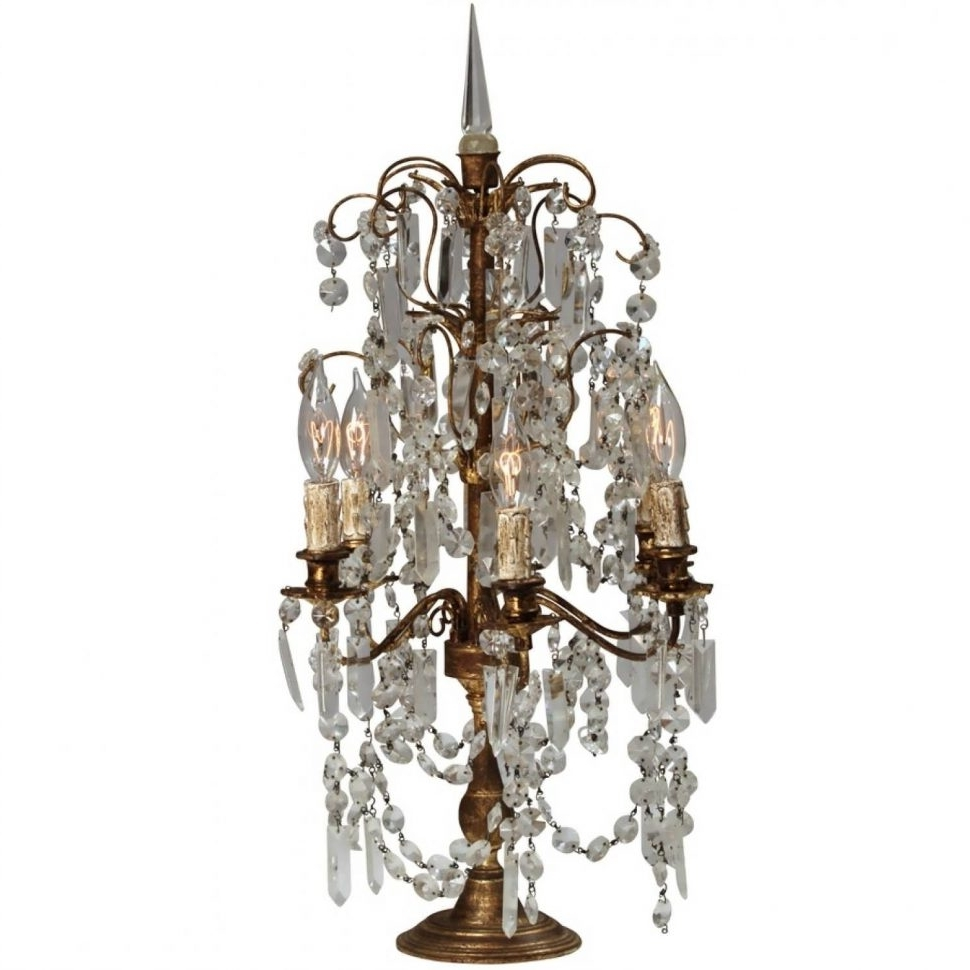 Latest Turquoise Lantern Chandeliers In Chandeliers Design : Marvelous Vintage Crystal Chandelier Table (View 4 of 20)