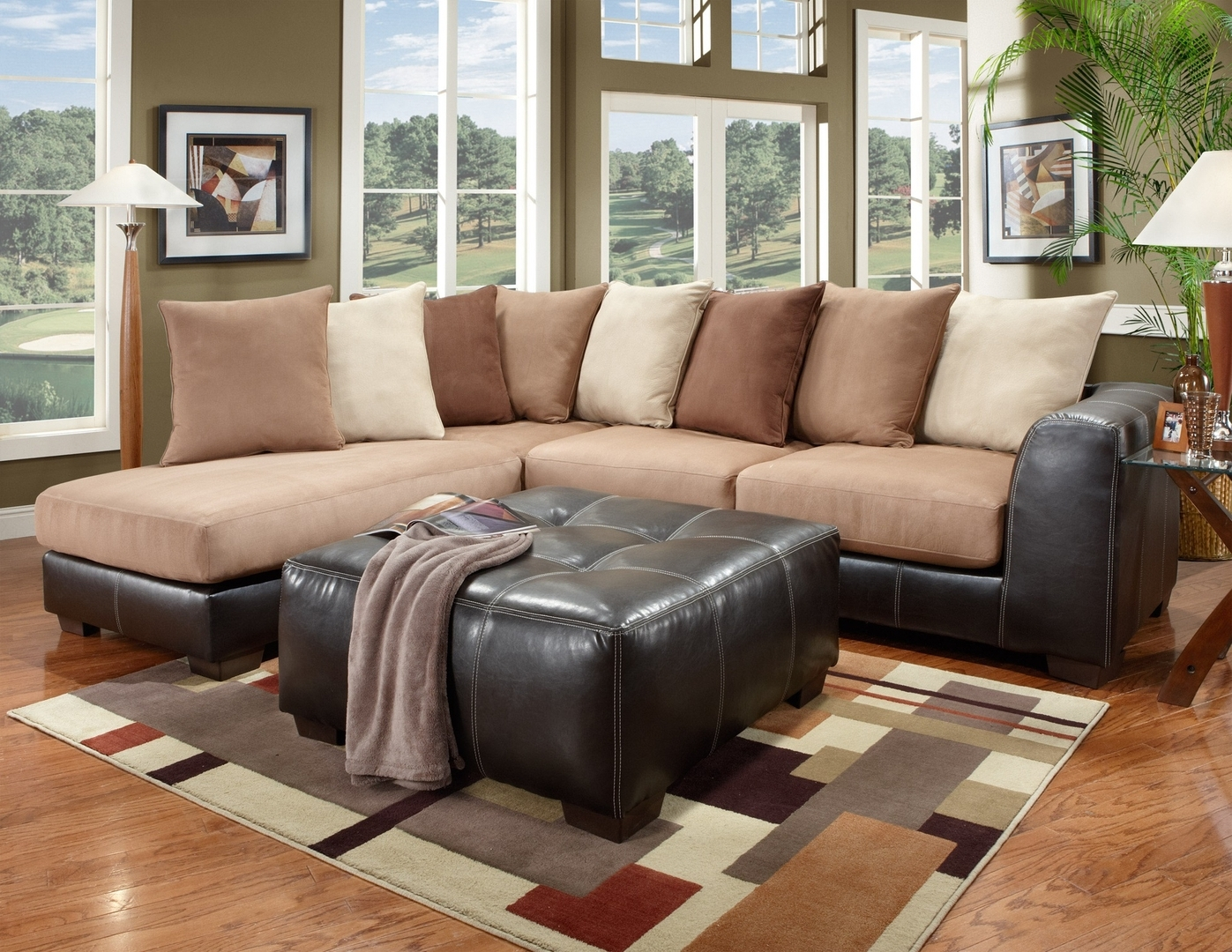 Latest Tuscaloosa Sectional Sofas For Sectionals: Tuscaloosa, Al: Southeastern Furniture (View 7 of 20)