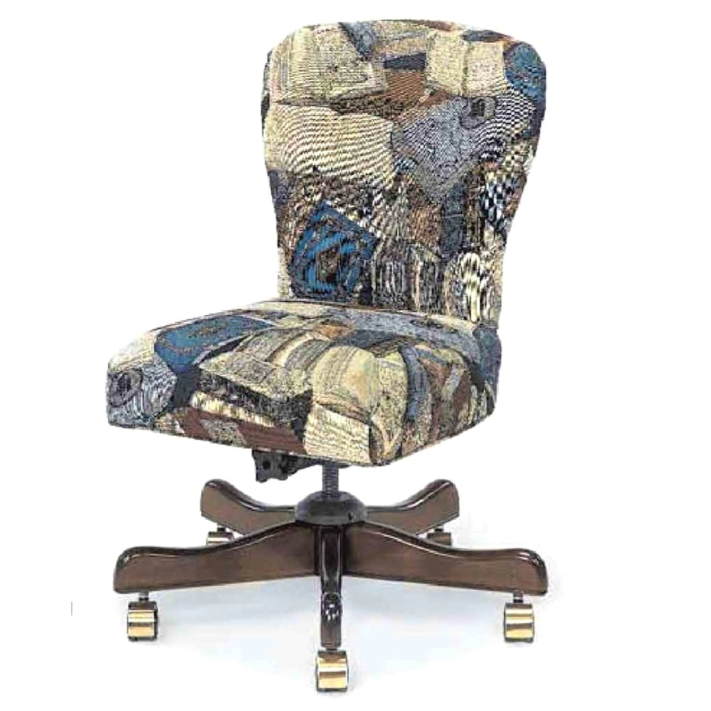 Latest Upholstered Desk Chair With Wheels (View 5 of 20)