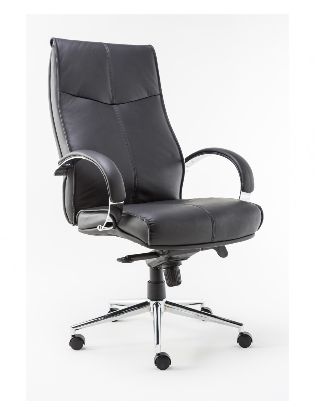 Latest Verona Cream Executive Leather Office Chairs Intended For Alphason Verona Executive Office Chair Aoc1019Blk (View 10 of 20)