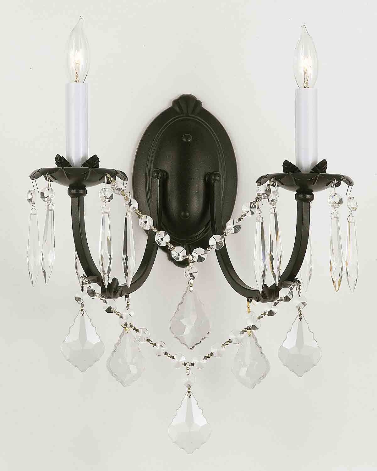 Latest Wall Mounted Chandelier Lighting With Regard To Fresh Elegant Wall Mounted Chandelier Lighting Hk1L1 # (View 5 of 20)