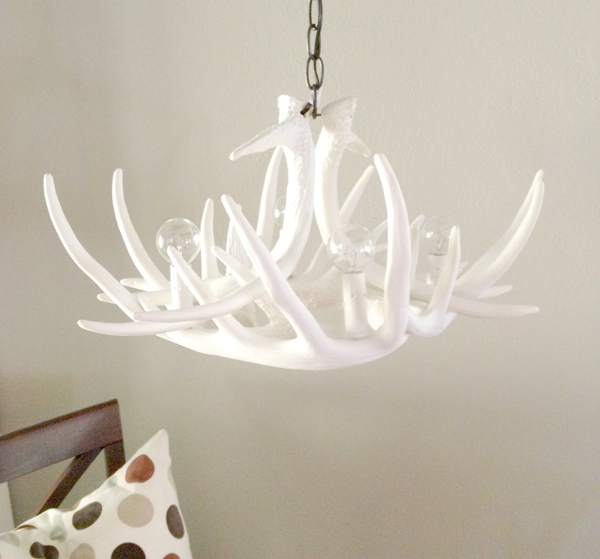 Latest White Antler Chandelier (View 8 of 20)