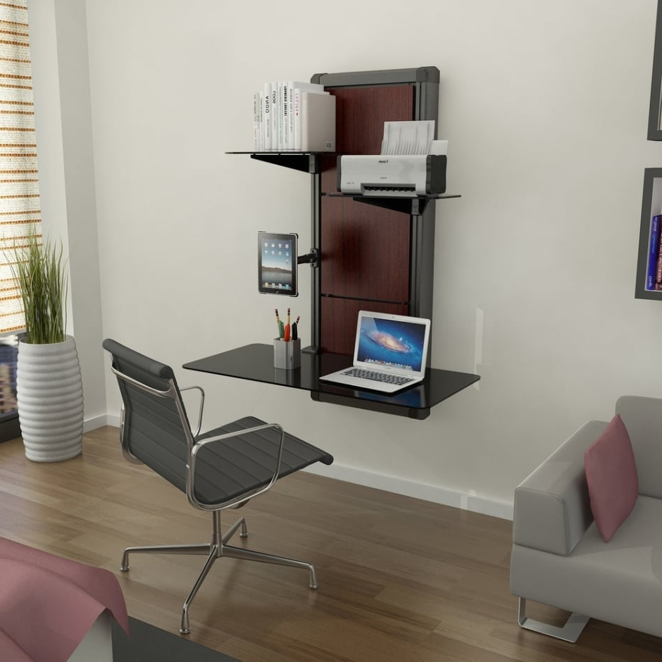 Latest Why Wall Mounted Desks Are Perfect For Small Spaces Throughout Vertical Computer Desks (View 8 of 20)