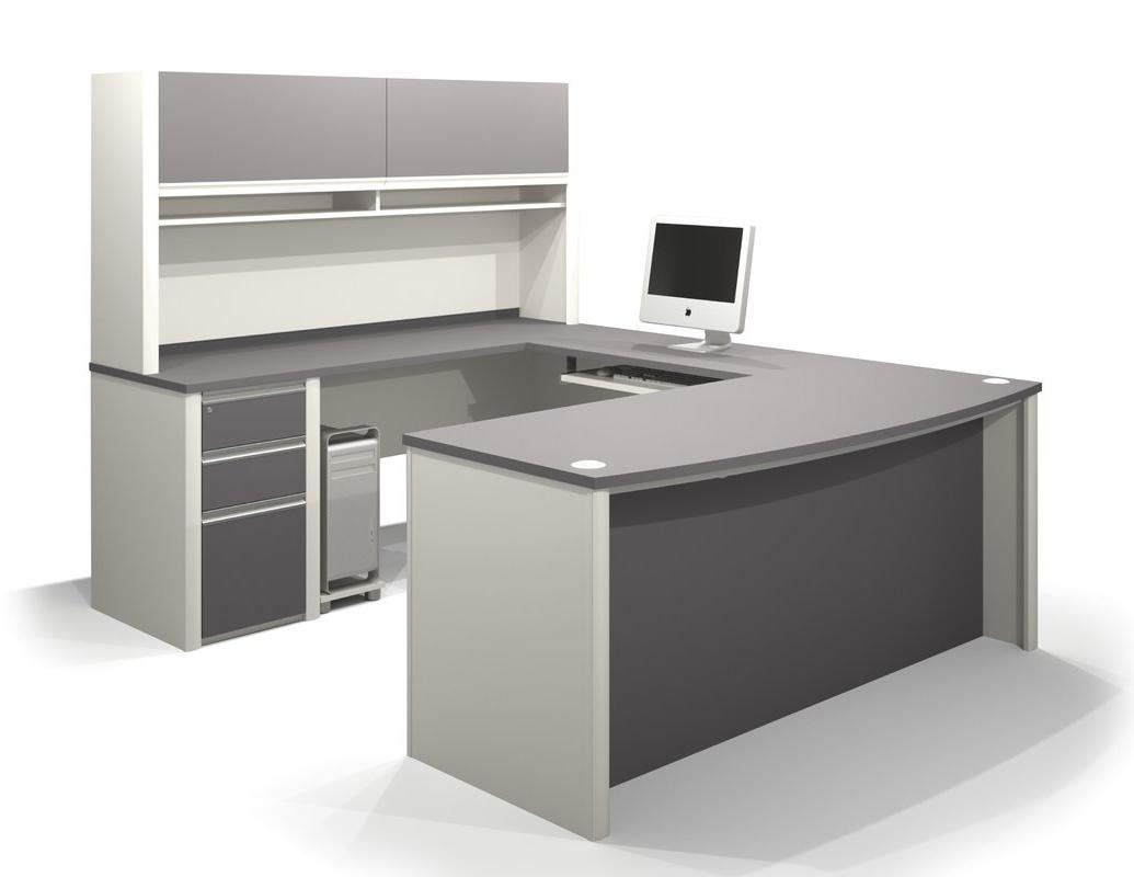 Latitude Run Karla 2 Piece U Shaped Desk Office Suite & Reviews With Regard To Preferred U Shaped Computer Desks (View 7 of 20)