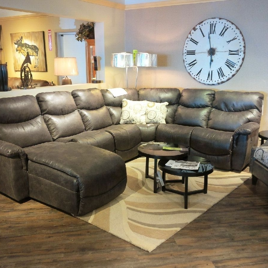 Lazboy James Sectional! (View 6 of 20)