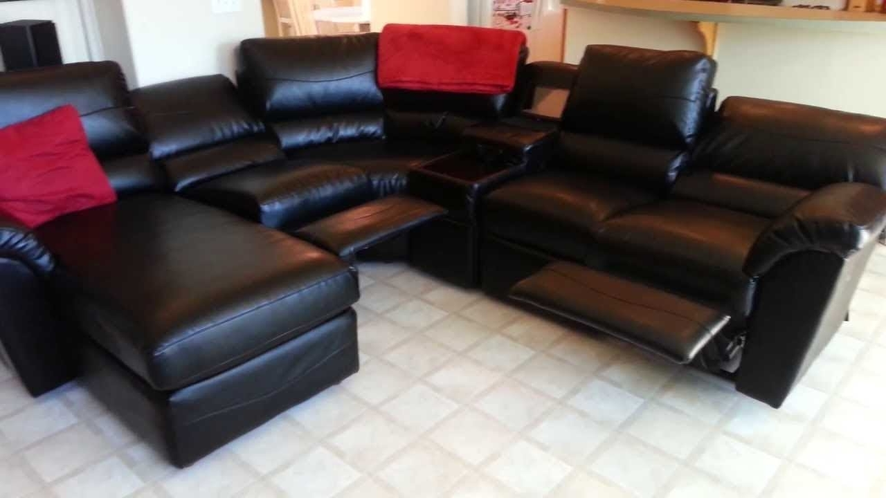 Lazyboy Sectional Sofas With Regard To Best And Newest Lazy Boy Sectional Sofa – Youtube (View 3 of 20)